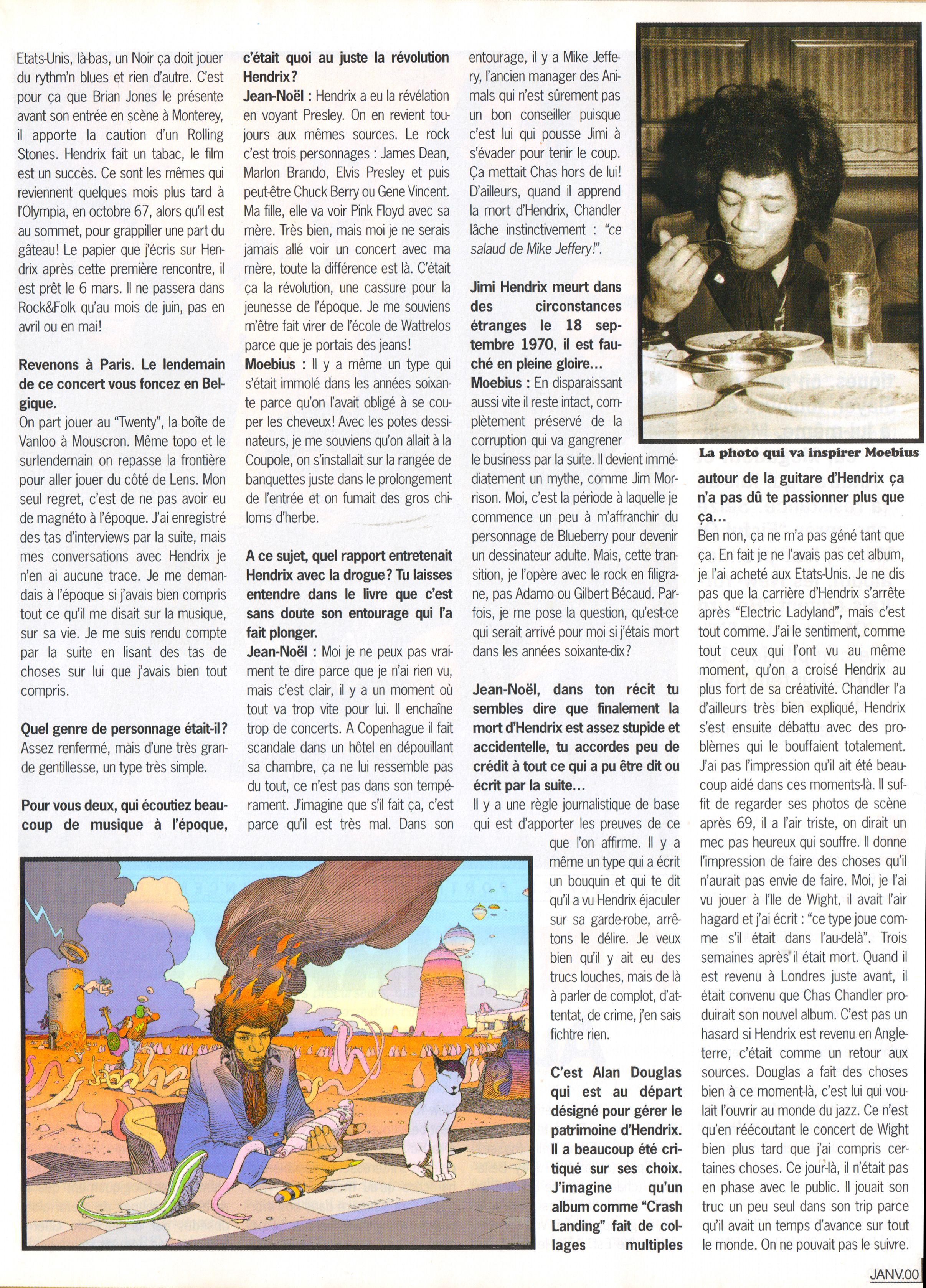 Magazines Français 1989 - 2014 GuitaretBassJanvier2000Page29