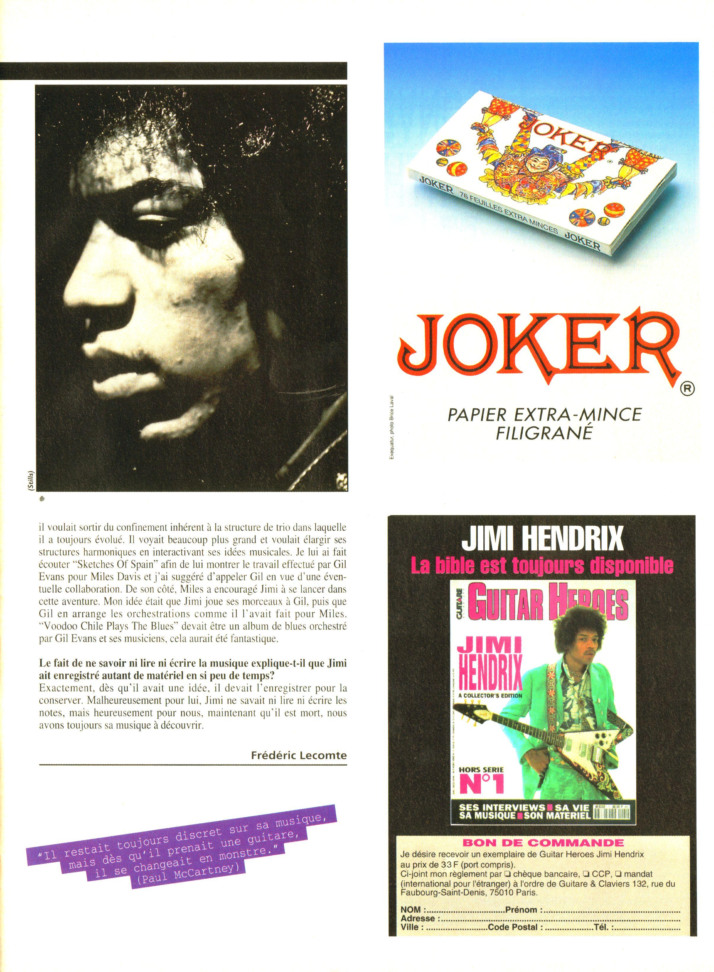Magazines Français 1989 - 2014 GuitaretClavierAvril1994Page19