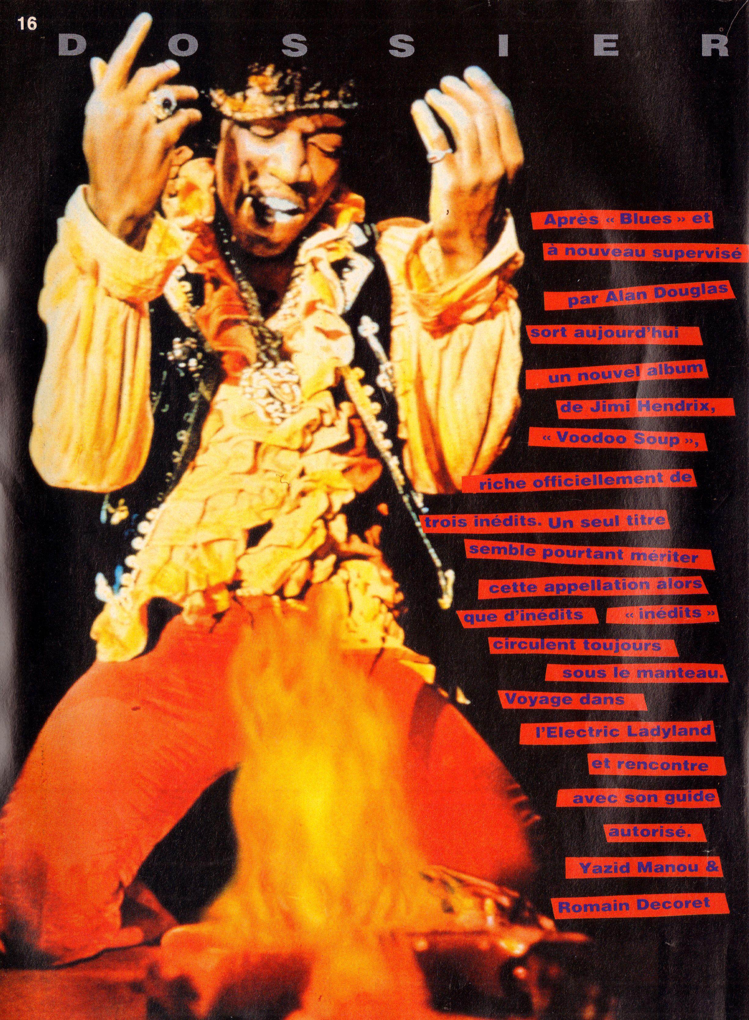 Magazines Français 1989 - 2014 GuitaristMai1995Page16