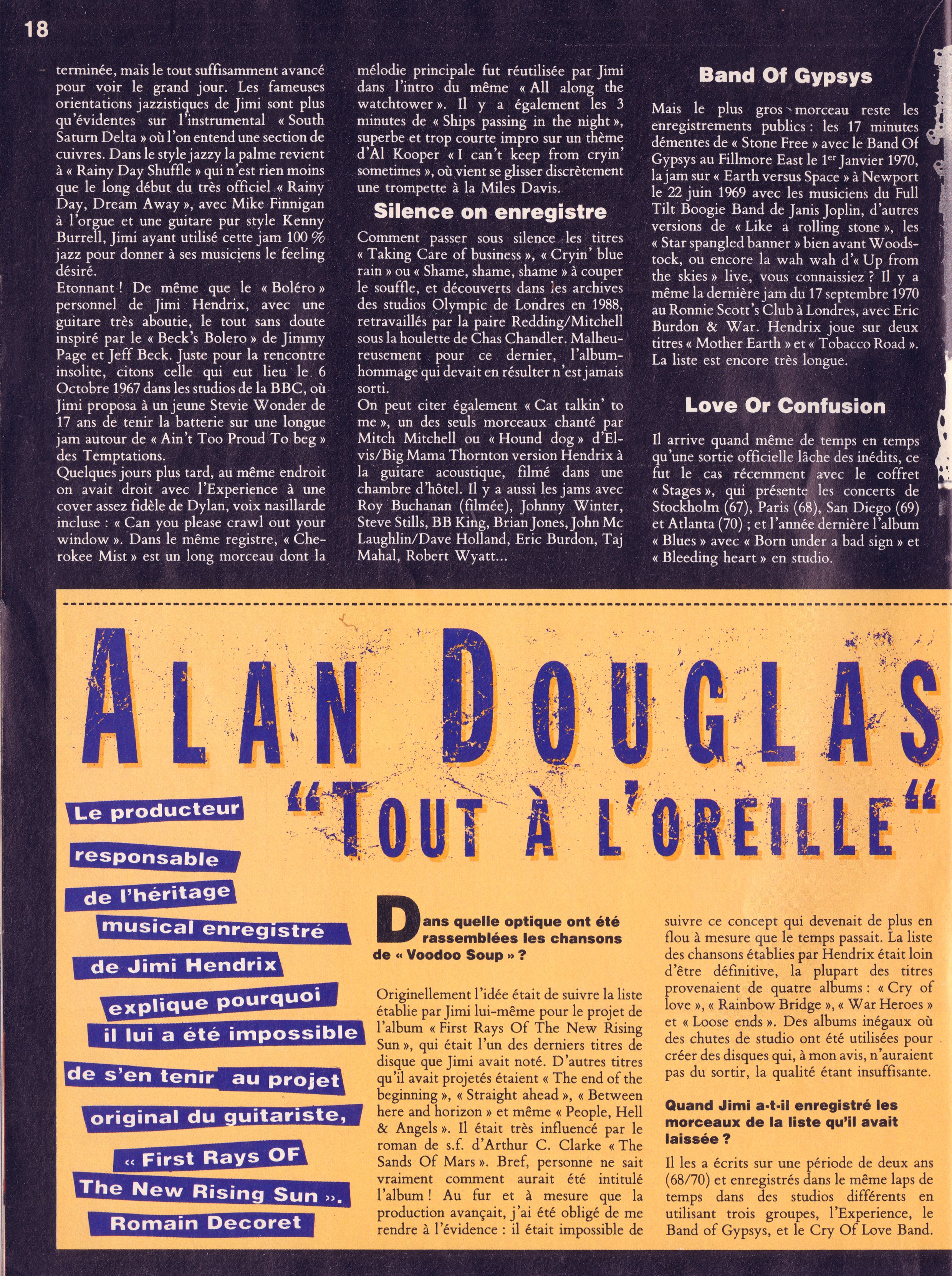 Magazines Français 1989 - 2014 GuitaristMai1995Page18