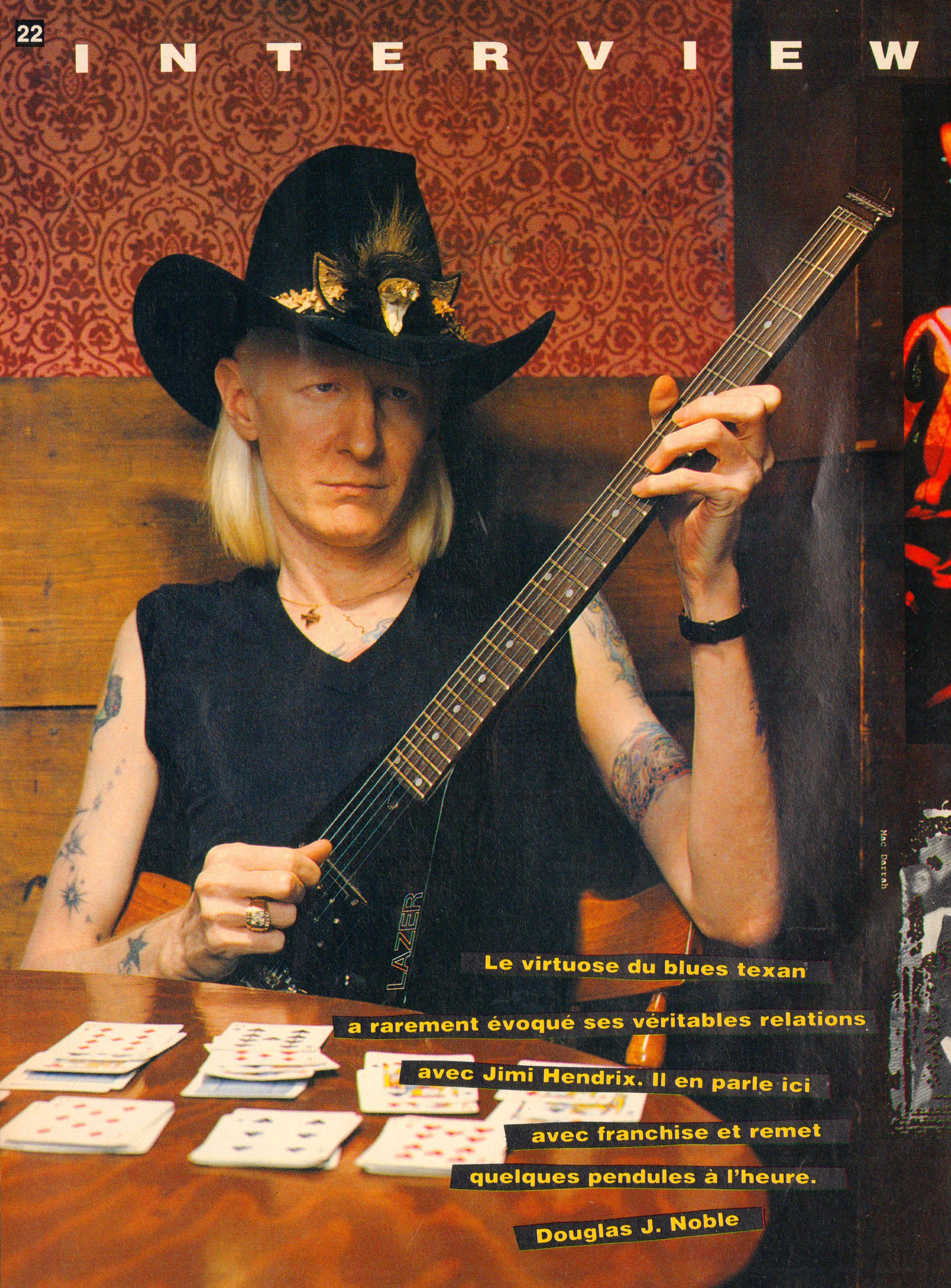 Magazines Français 1989 - 2014 GuitaristMai1995Page22