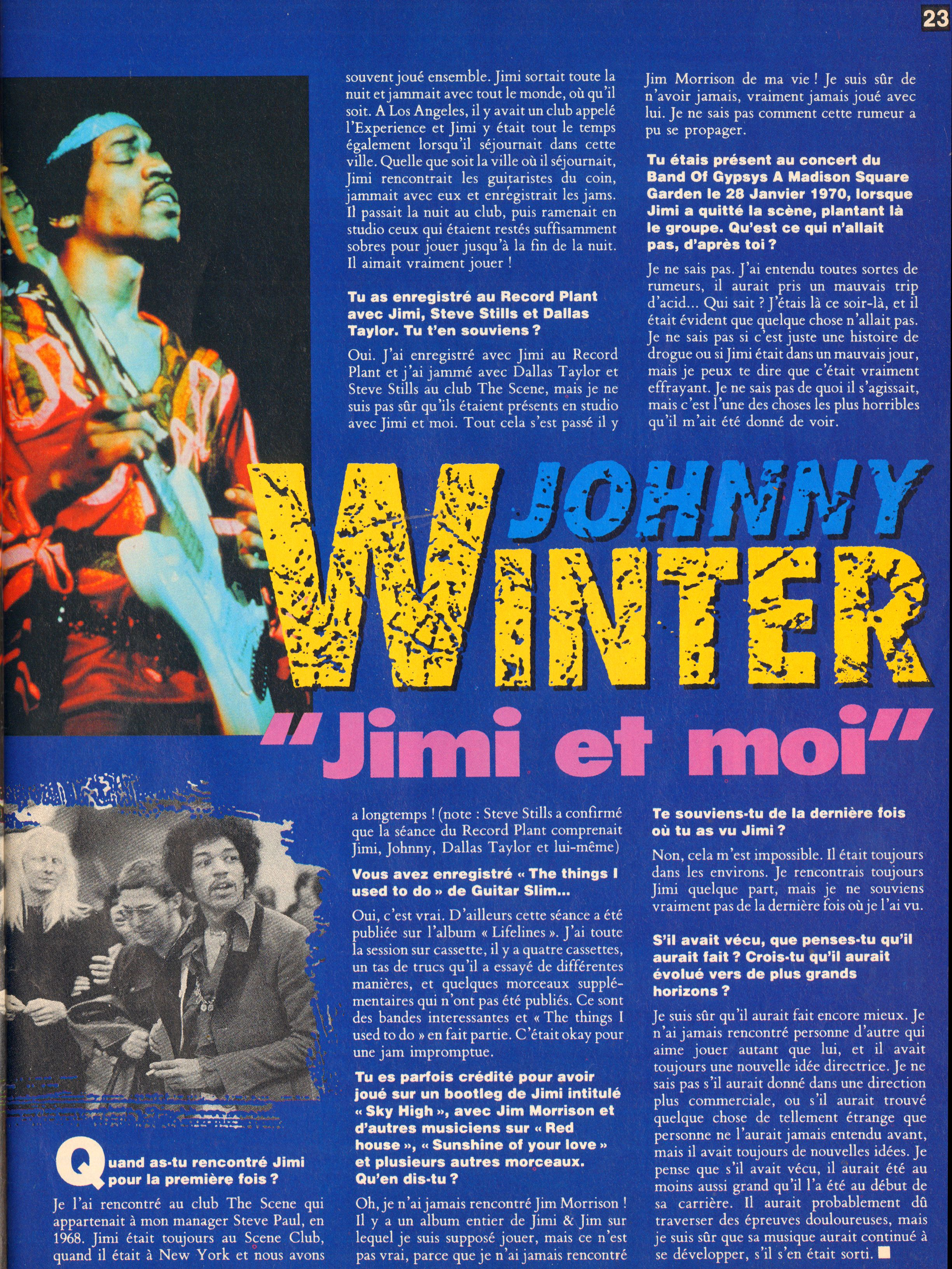 Magazines Français 1989 - 2014 GuitaristMai1995Page23