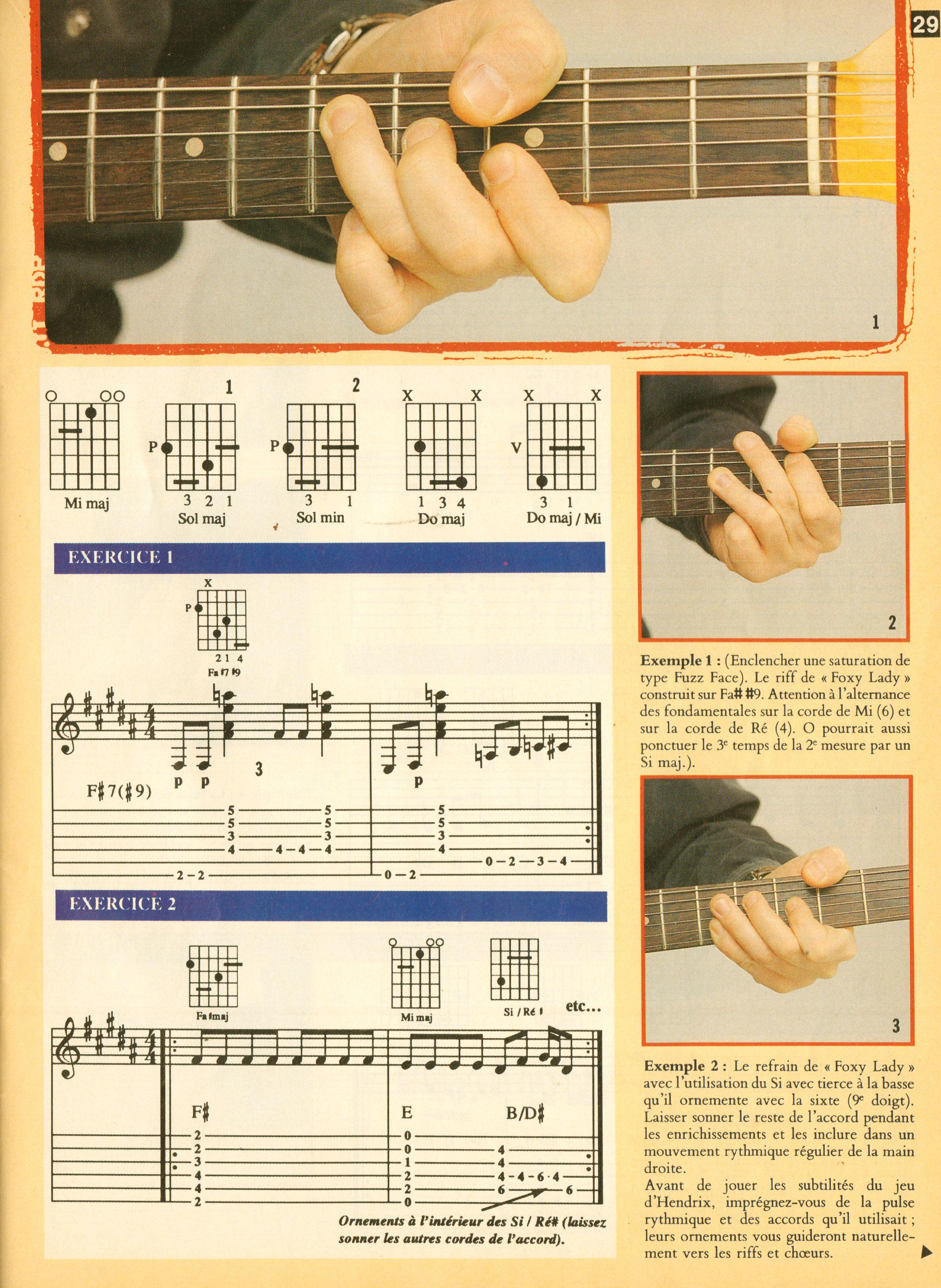 Magazines Français 1989 - 2014 GuitaristMai1995Page29