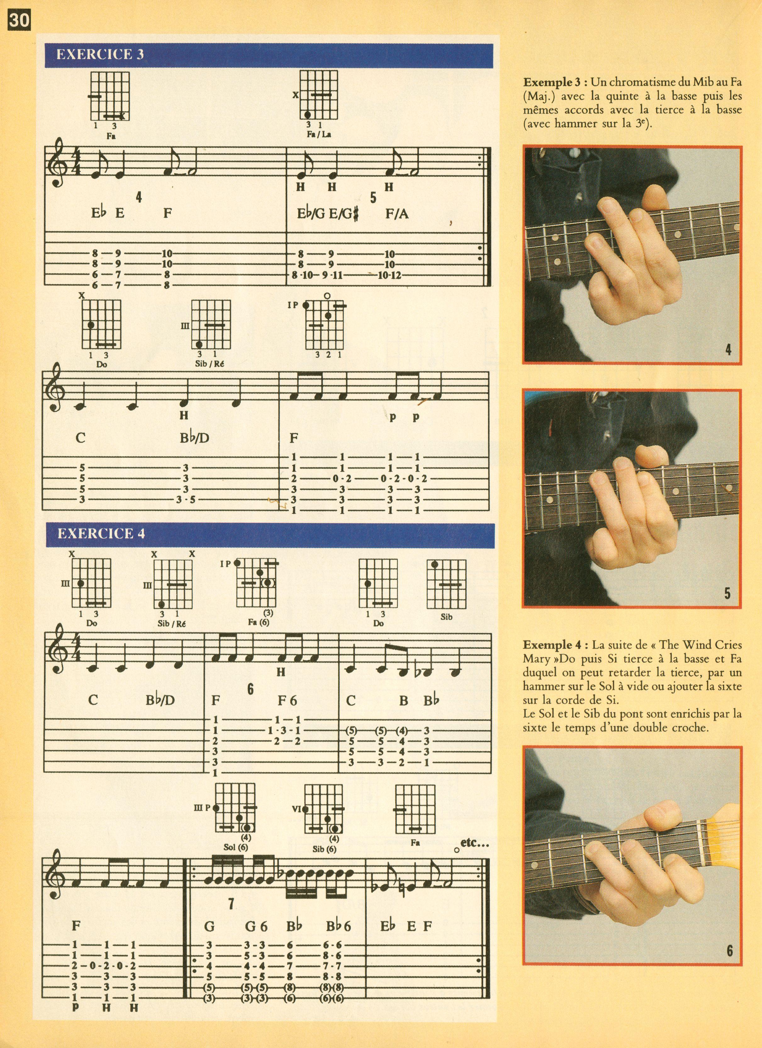 Magazines Français 1989 - 2014 GuitaristMai1995Page30