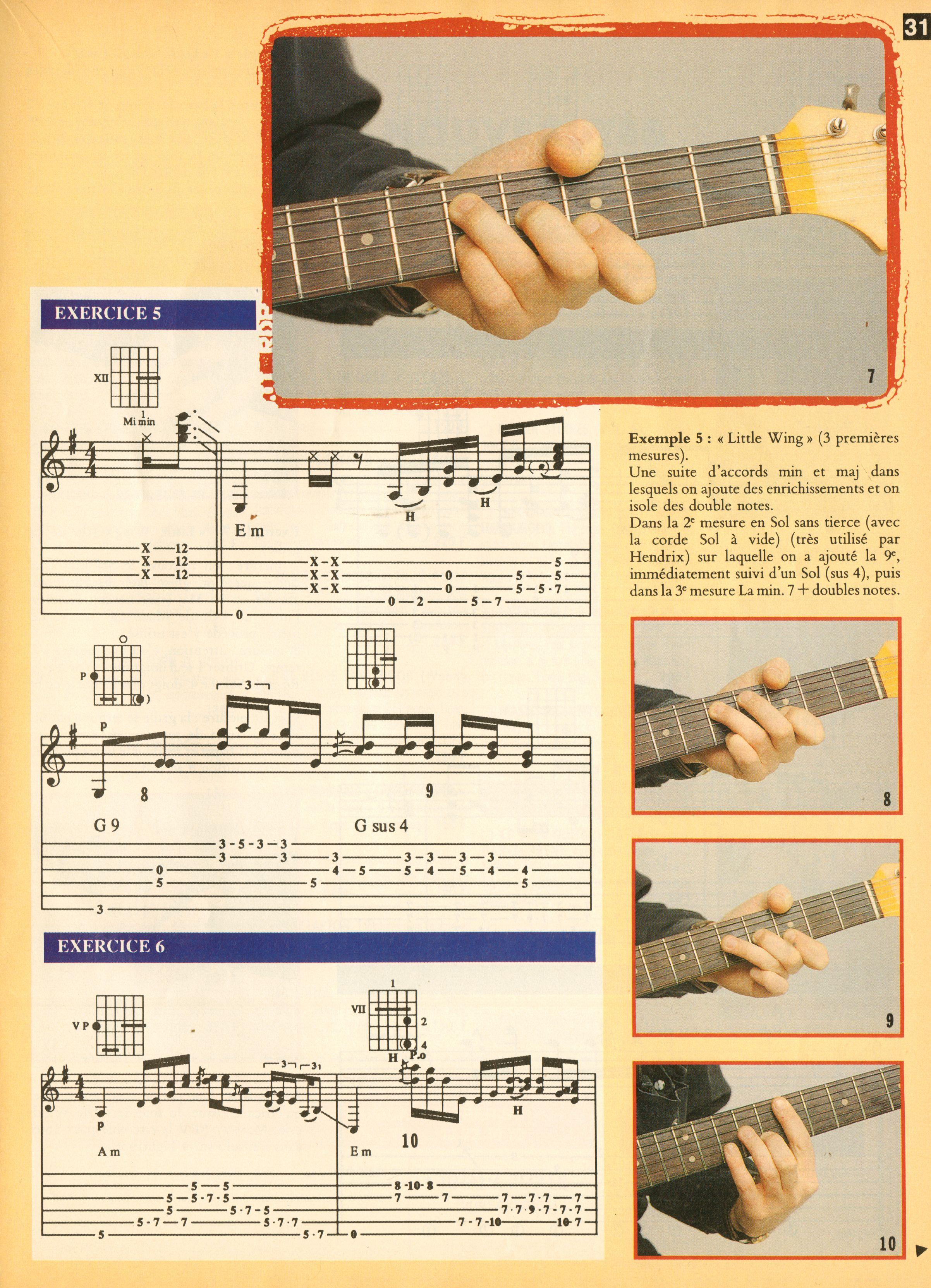 Magazines Français 1989 - 2014 GuitaristMai1995Page31
