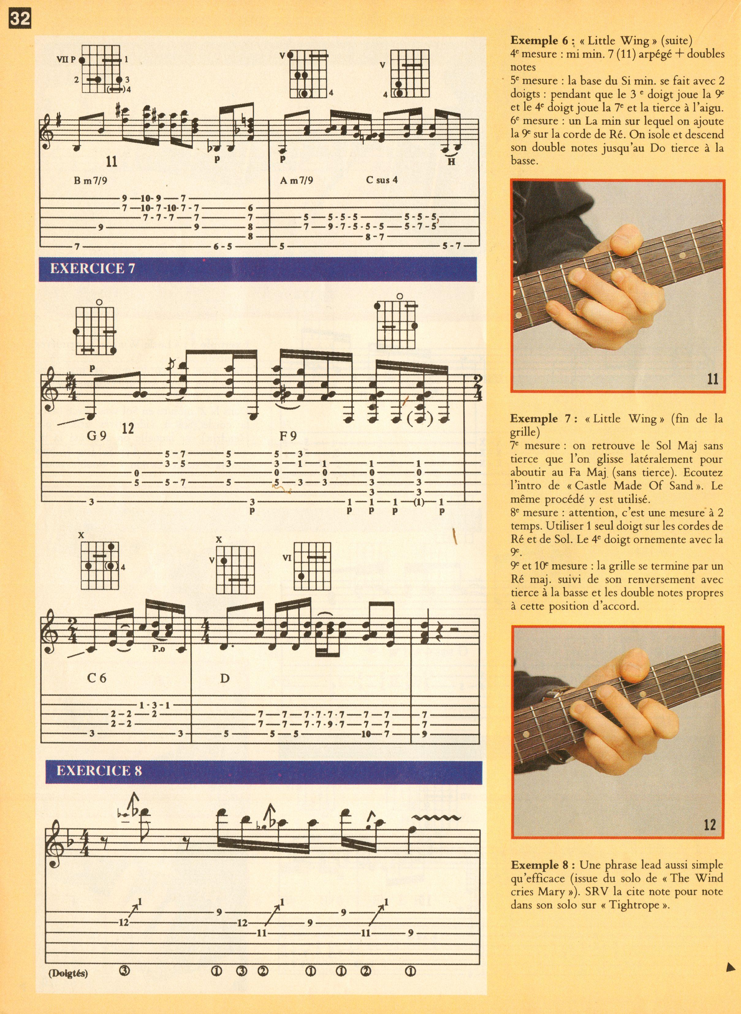 Magazines Français 1989 - 2014 GuitaristMai1995Page32