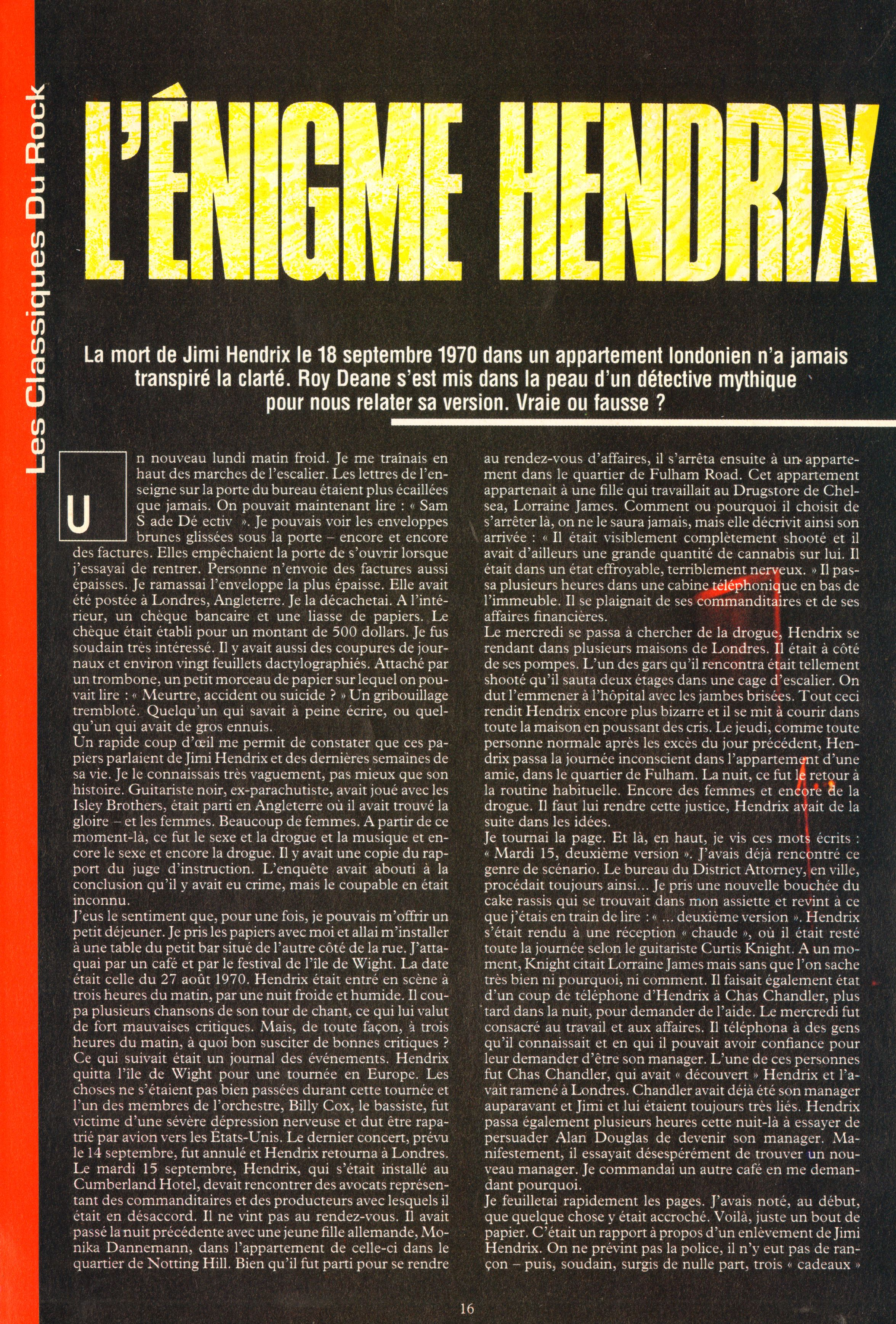 Magazines Français 1989 - 2014 IdolesNovembre1989Page16