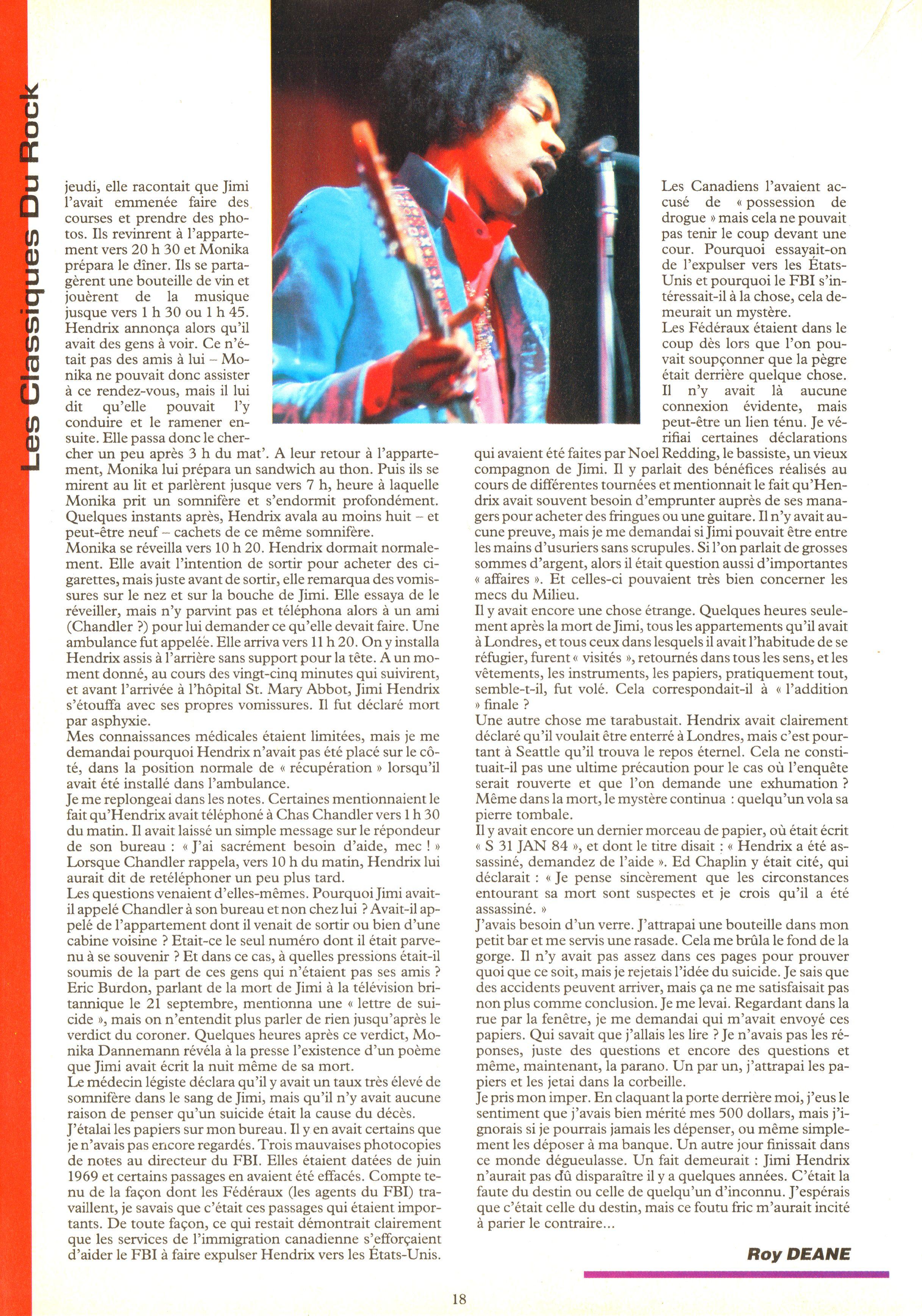 Magazines Français 1989 - 2014 IdolesNovembre1989Page18