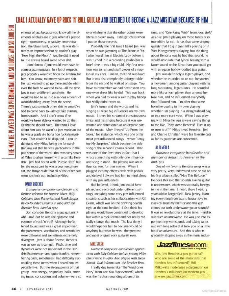 Magazines Américains - Page 4 JazzTimesaot2001_page46_image1