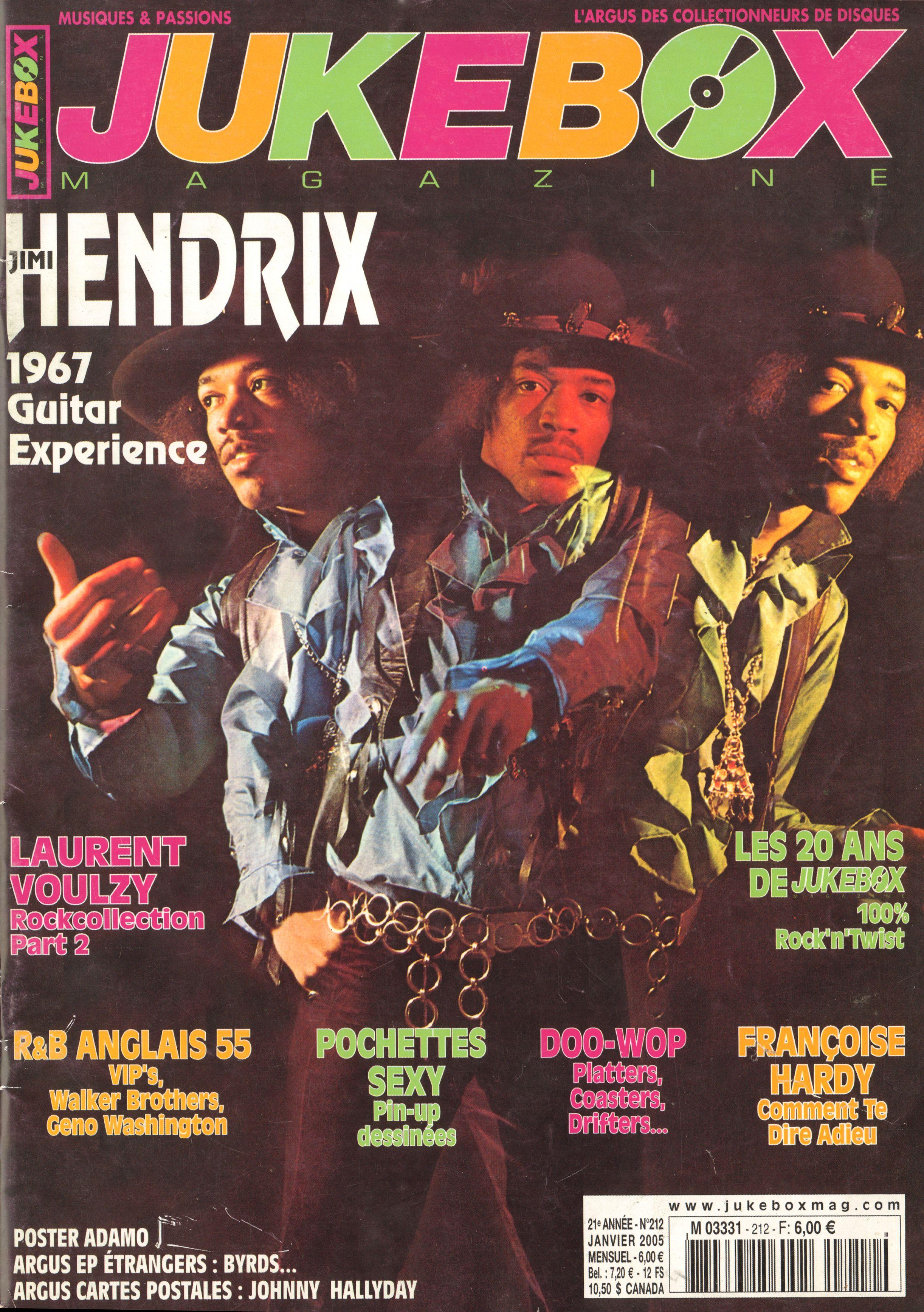 Magazines Français 1989 - 2014 JukeBoxJanvier2005Couverture