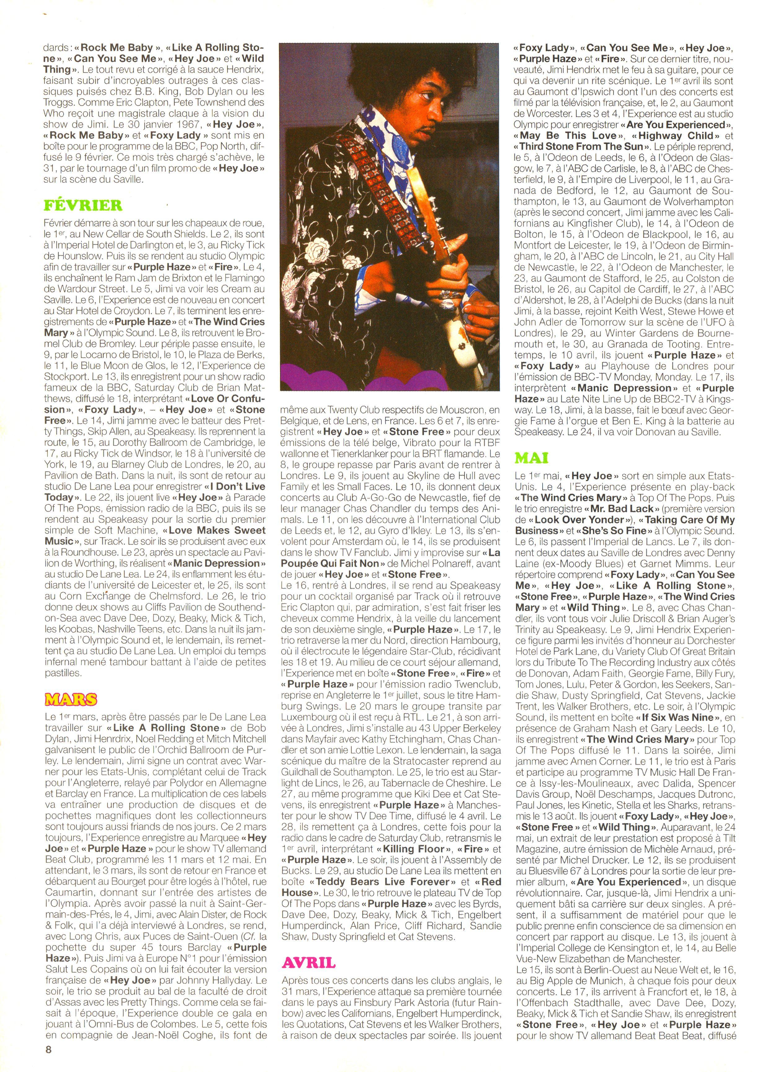 Magazines Français 1989 - 2014 JukeBoxJanvier2005Page08