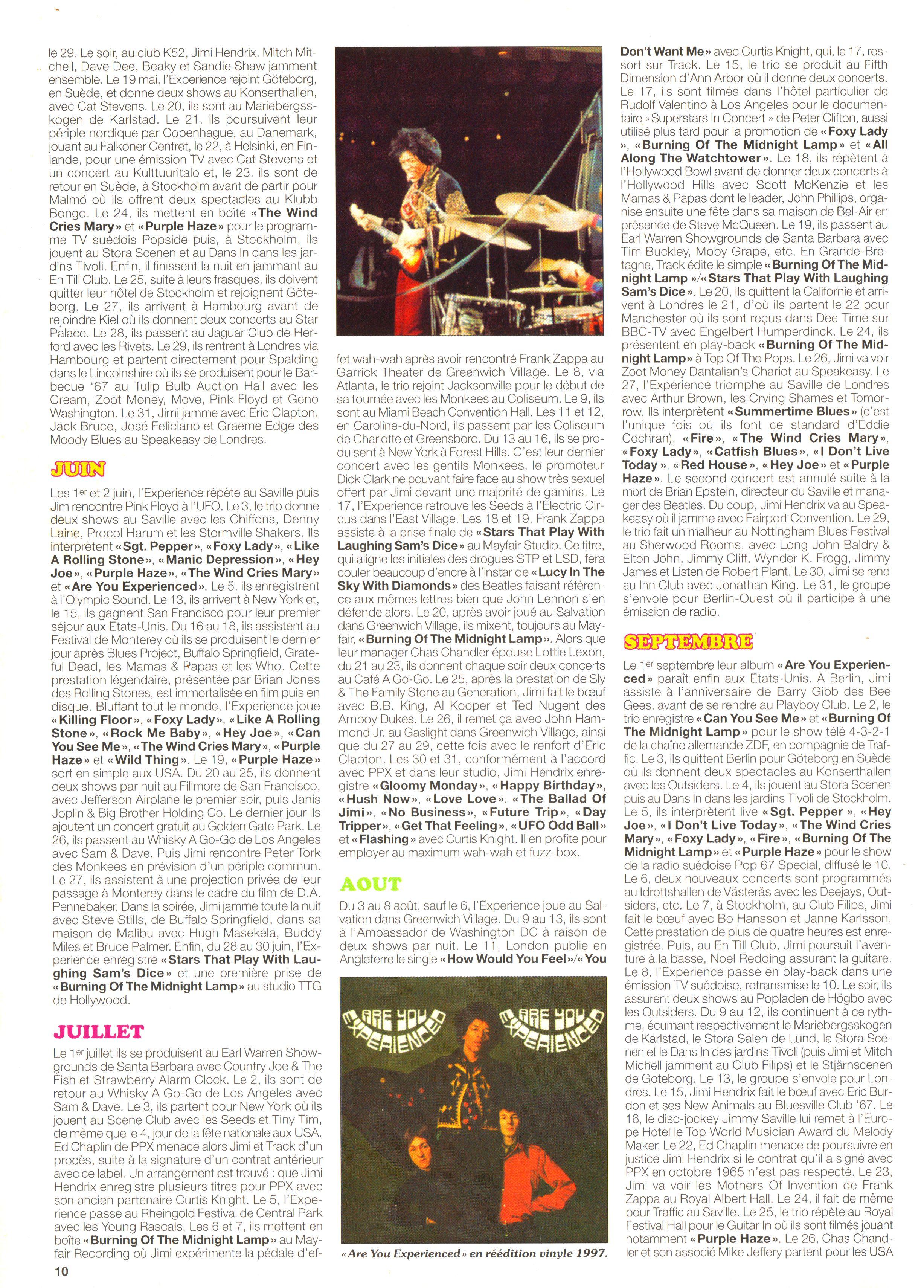 Magazines Français 1989 - 2014 JukeBoxJanvier2005Page10