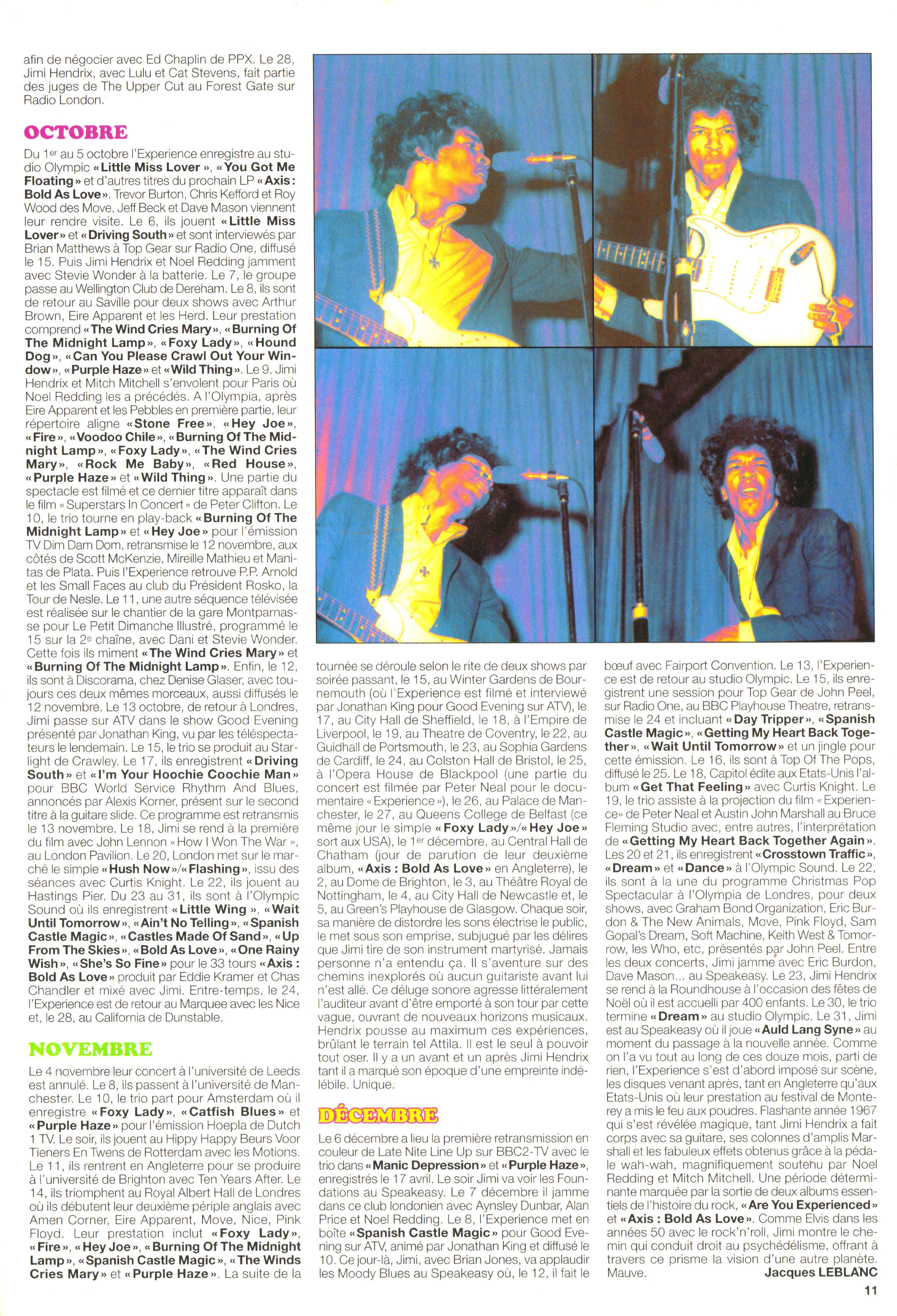 Magazines Français 1989 - 2014 JukeBoxJanvier2005Page11
