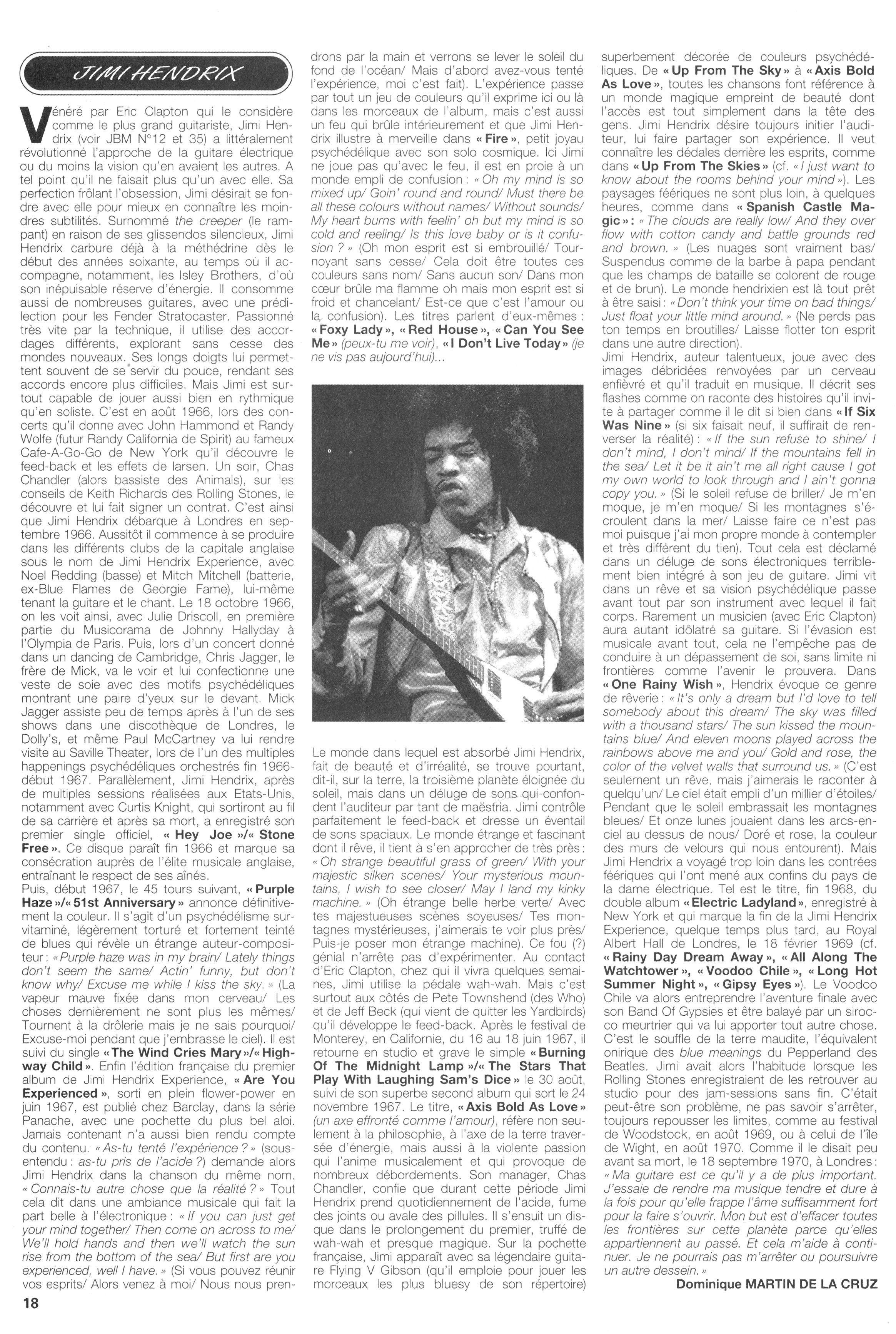 Magazines Français 1989 - 2014 JukeBoxMai1993Page18