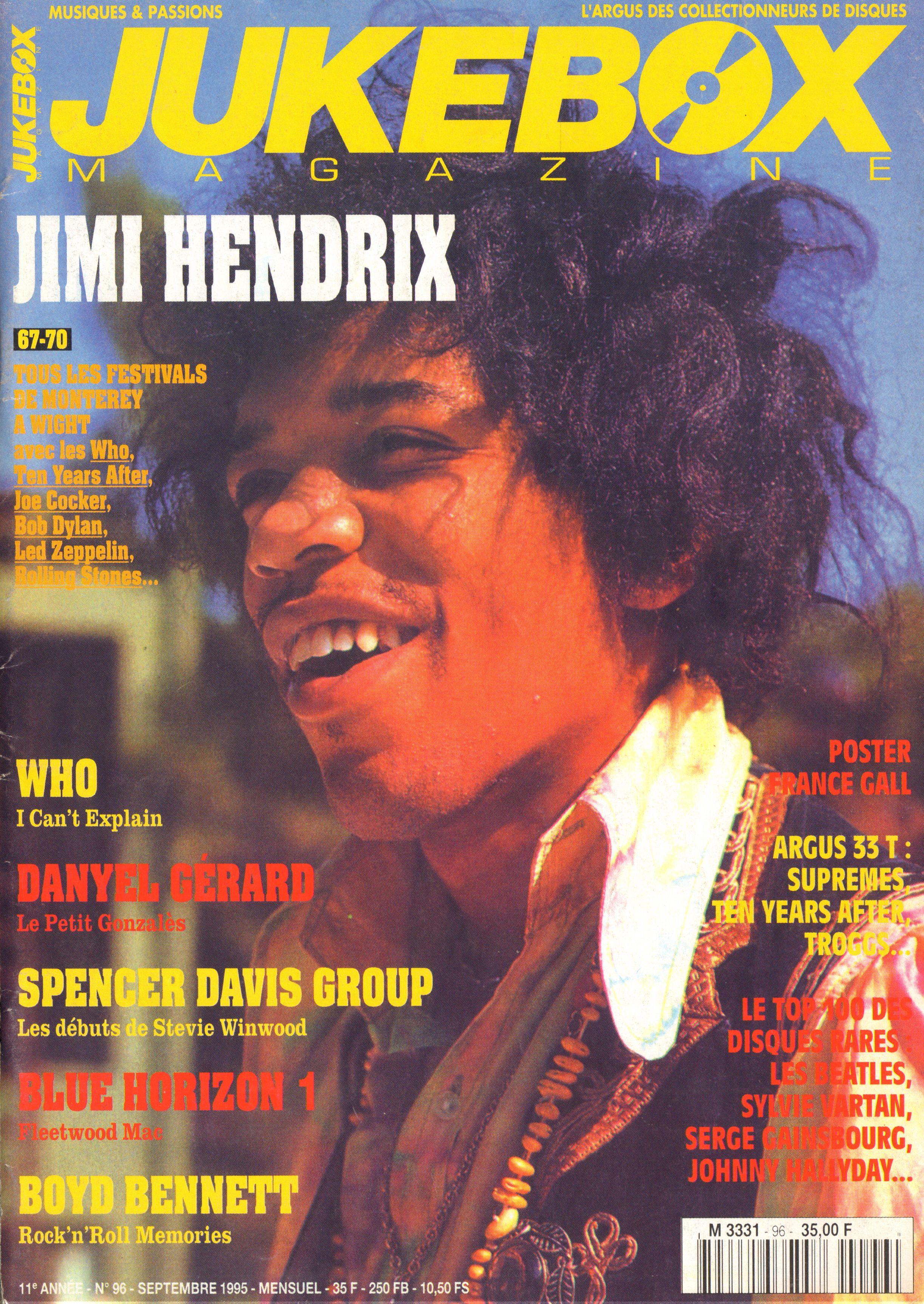 Magazines Français 1989 - 2014 JukeBoxSeptembre1995Couverture