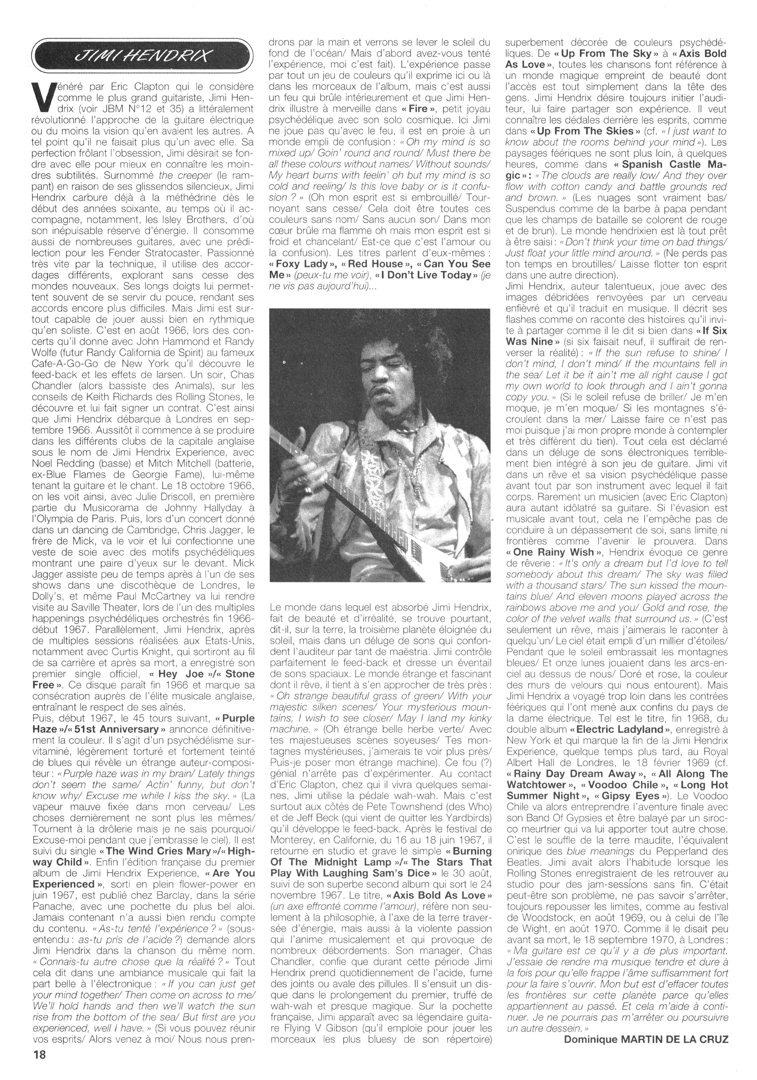 Magazines Français 1989 - 2014 JukeBoxSeptembre1995Page18