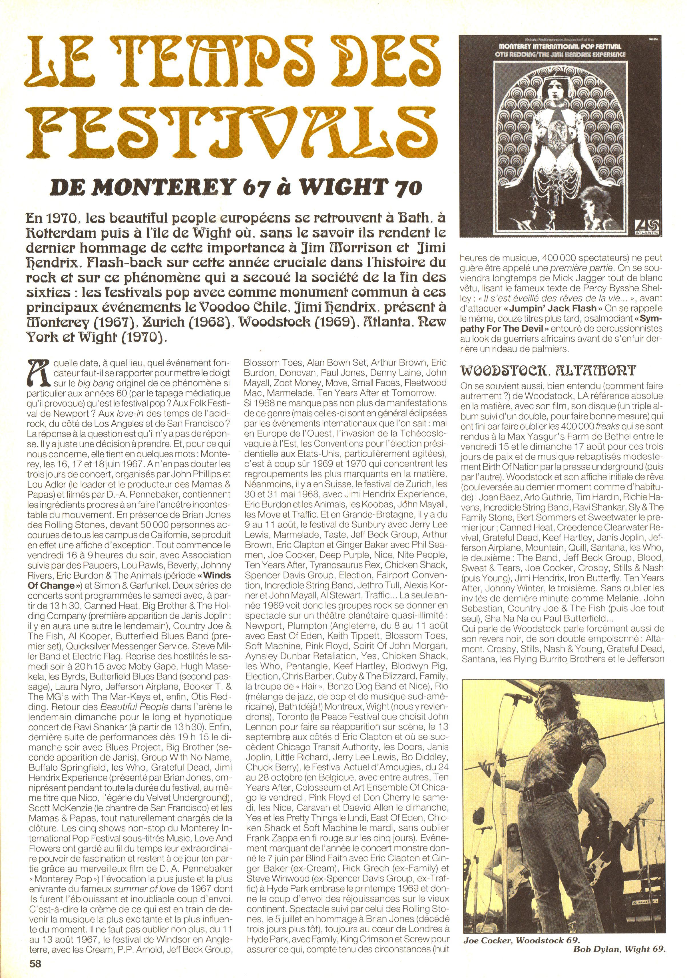 Magazines Français 1989 - 2014 JukeBoxSeptembre1995Page58