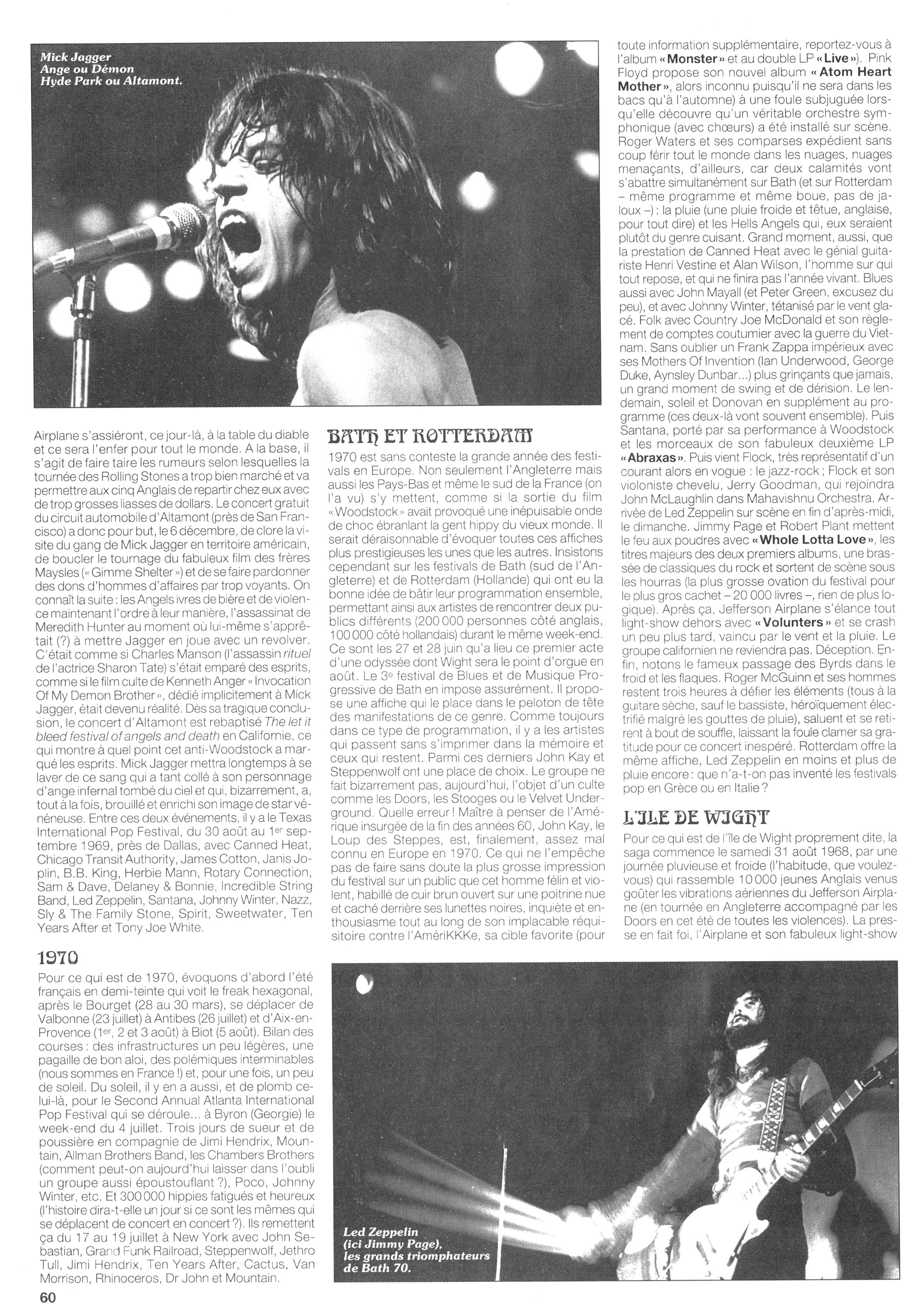 Magazines Français 1989 - 2014 JukeBoxSeptembre1995Page60