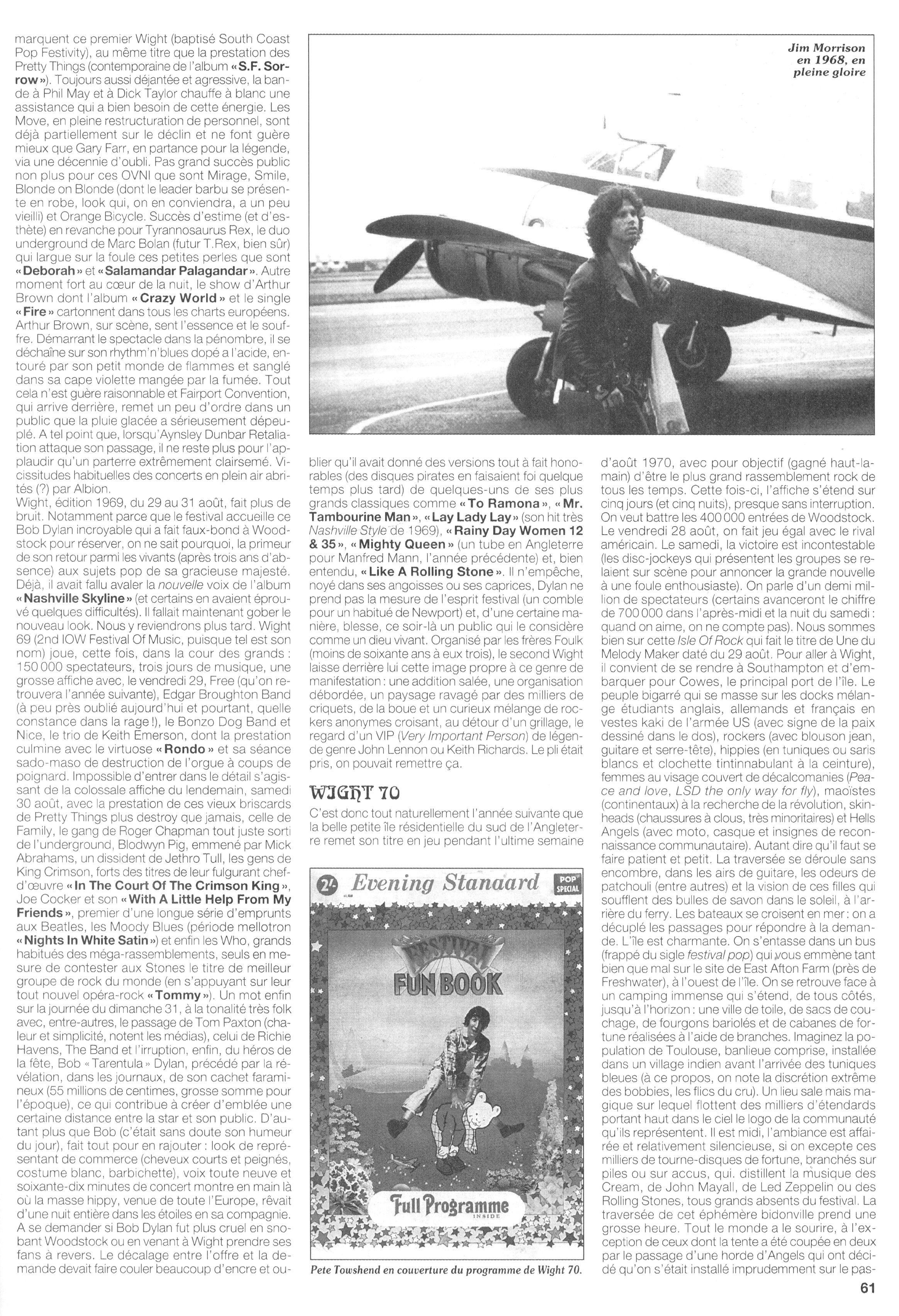 Magazines Français 1989 - 2014 JukeBoxSeptembre1995Page61