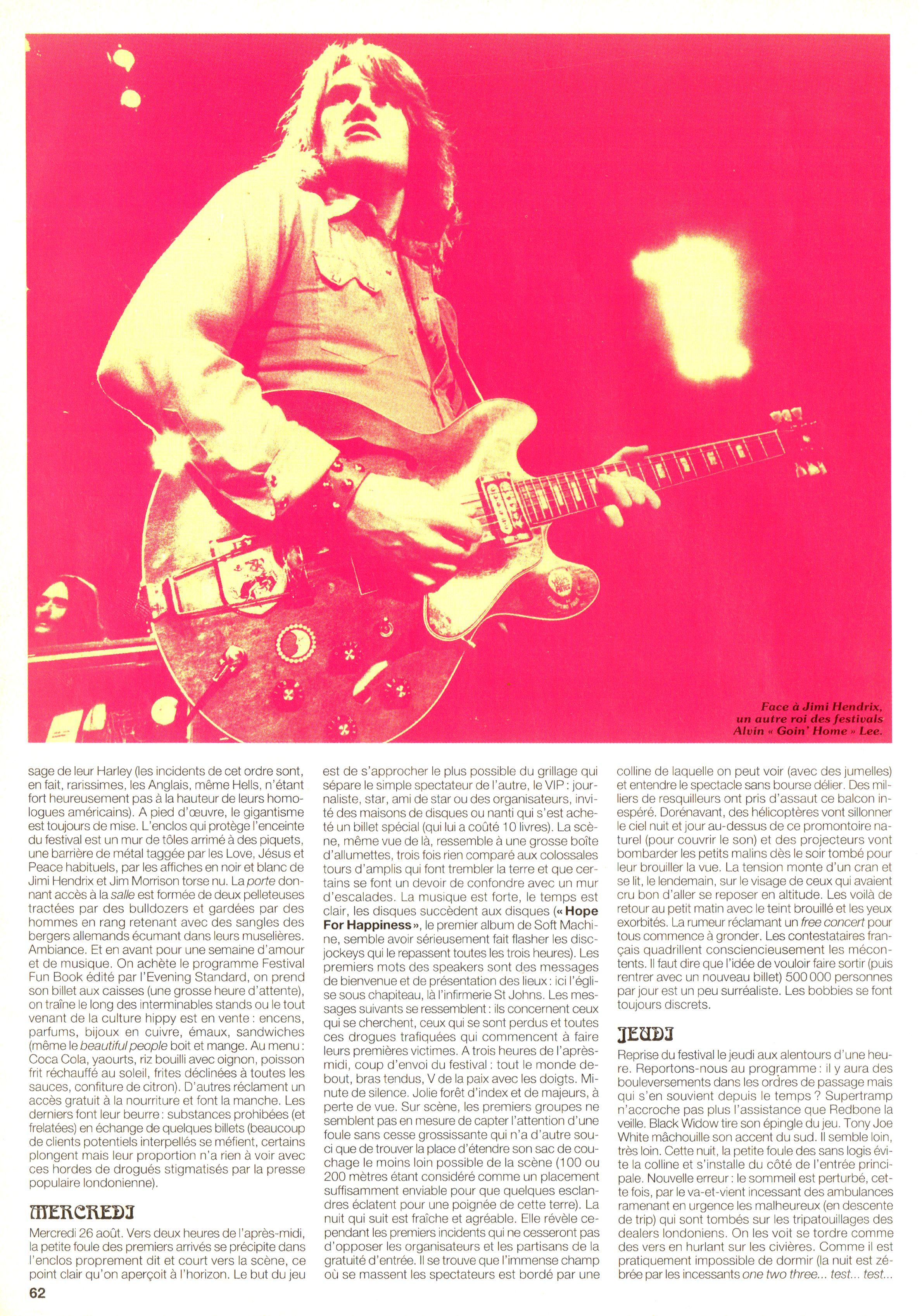 Magazines Français 1989 - 2014 JukeBoxSeptembre1995Page62