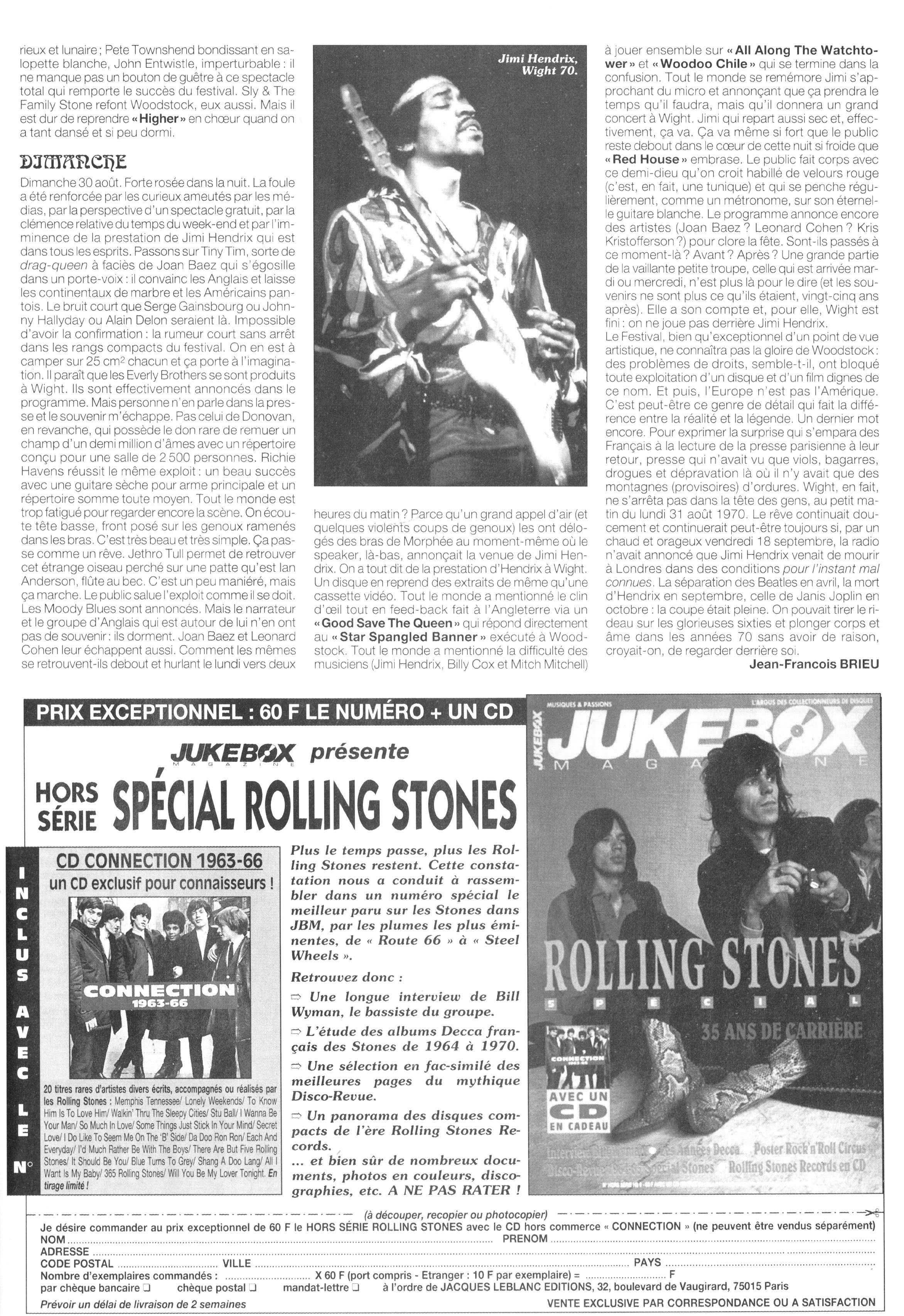 Magazines Français 1989 - 2014 JukeBoxSeptembre1995Page65