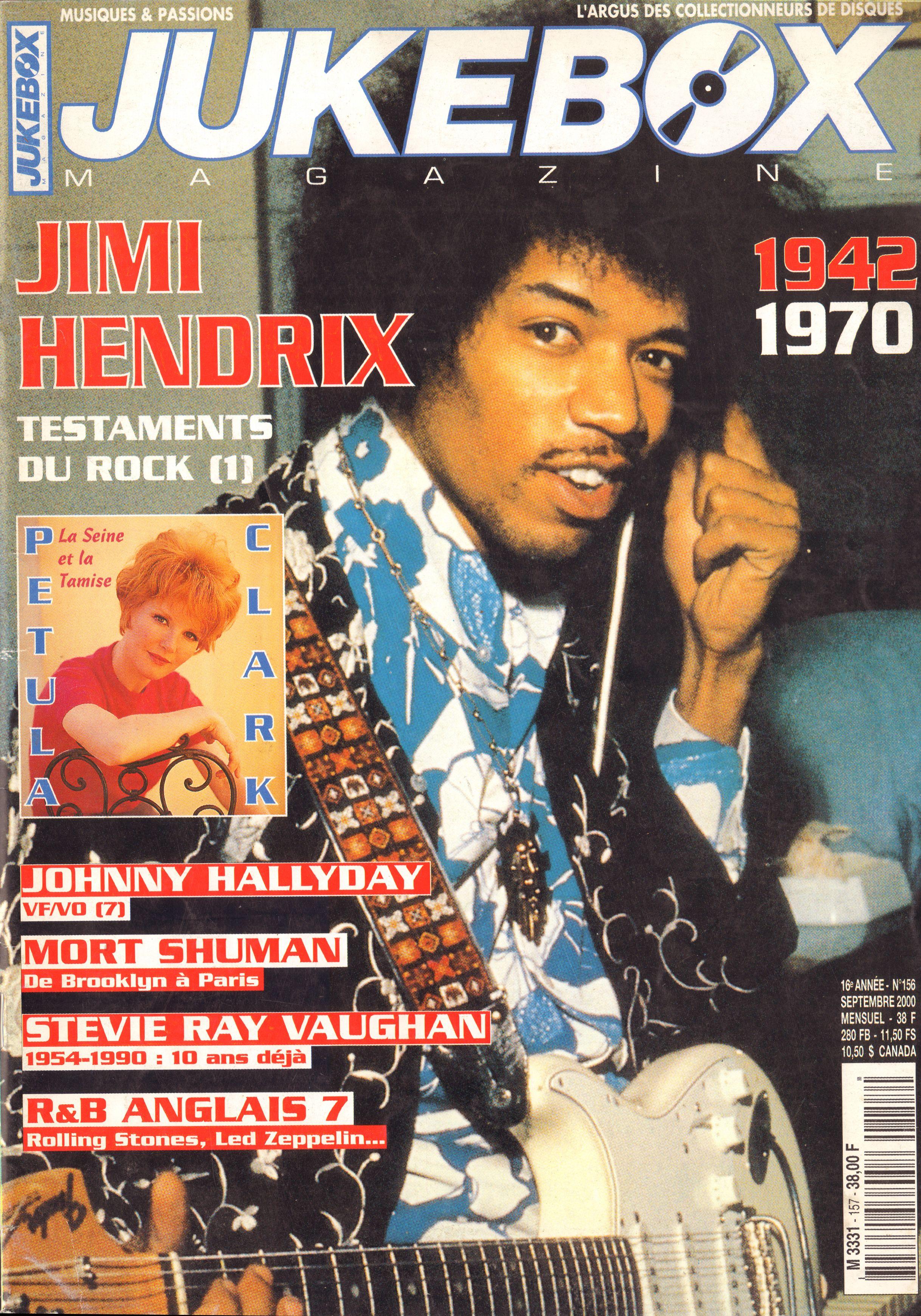 Magazines Français 1989 - 2014 JukeBoxSeptembre2000Couverture