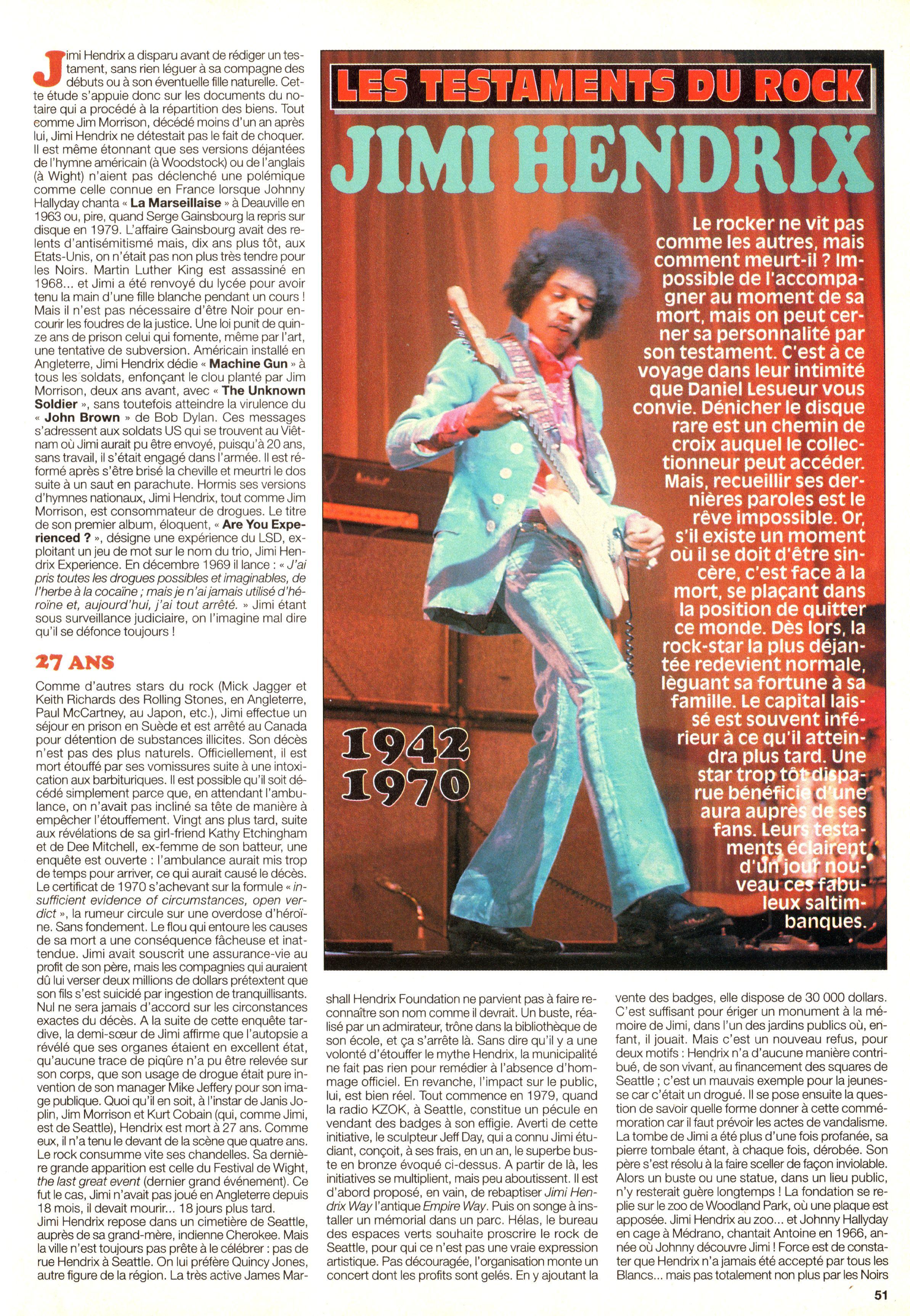 Magazines Français 1989 - 2014 JukeBoxSeptembre2000Page51