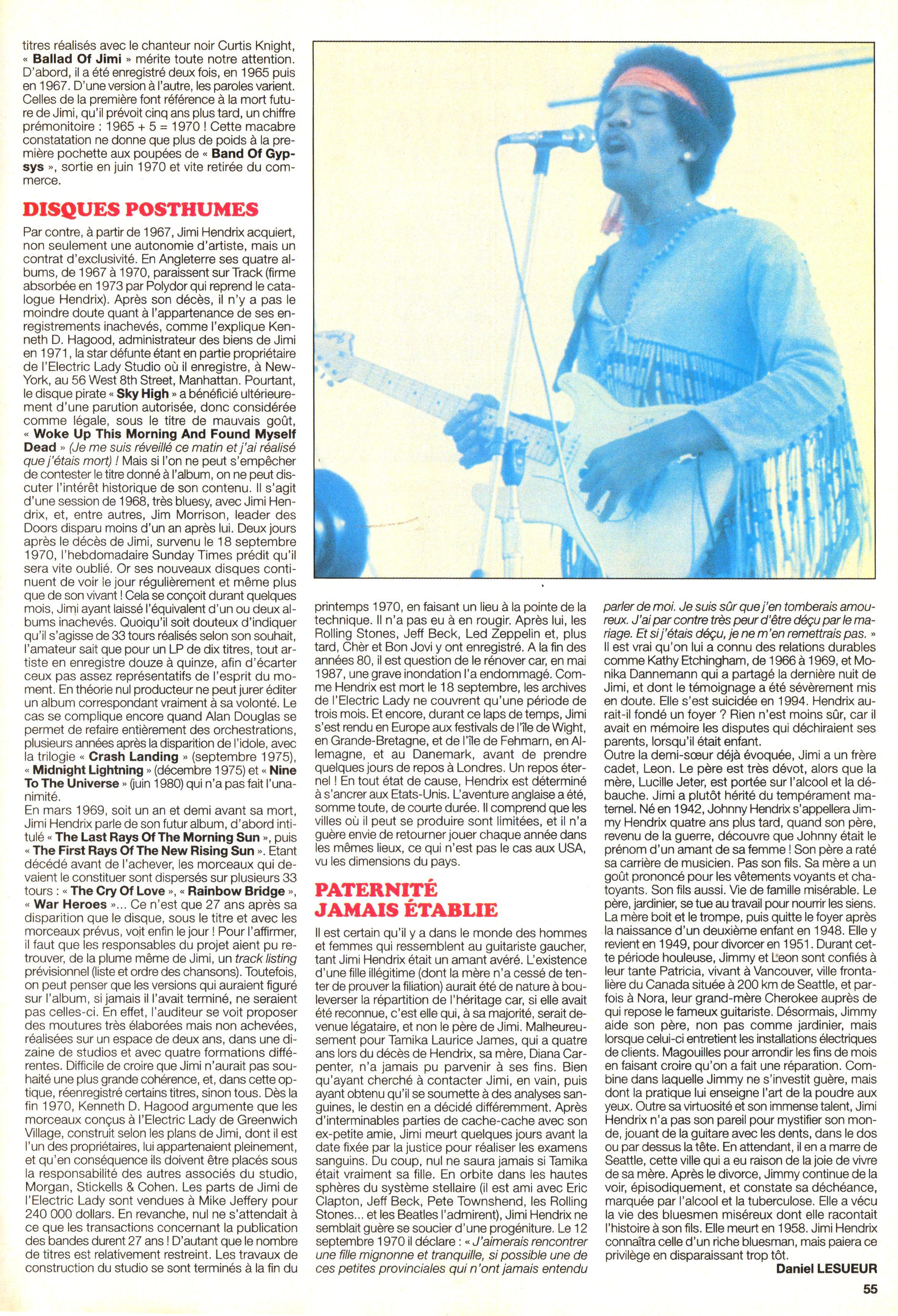 Magazines Français 1989 - 2014 JukeBoxSeptembre2000Page55
