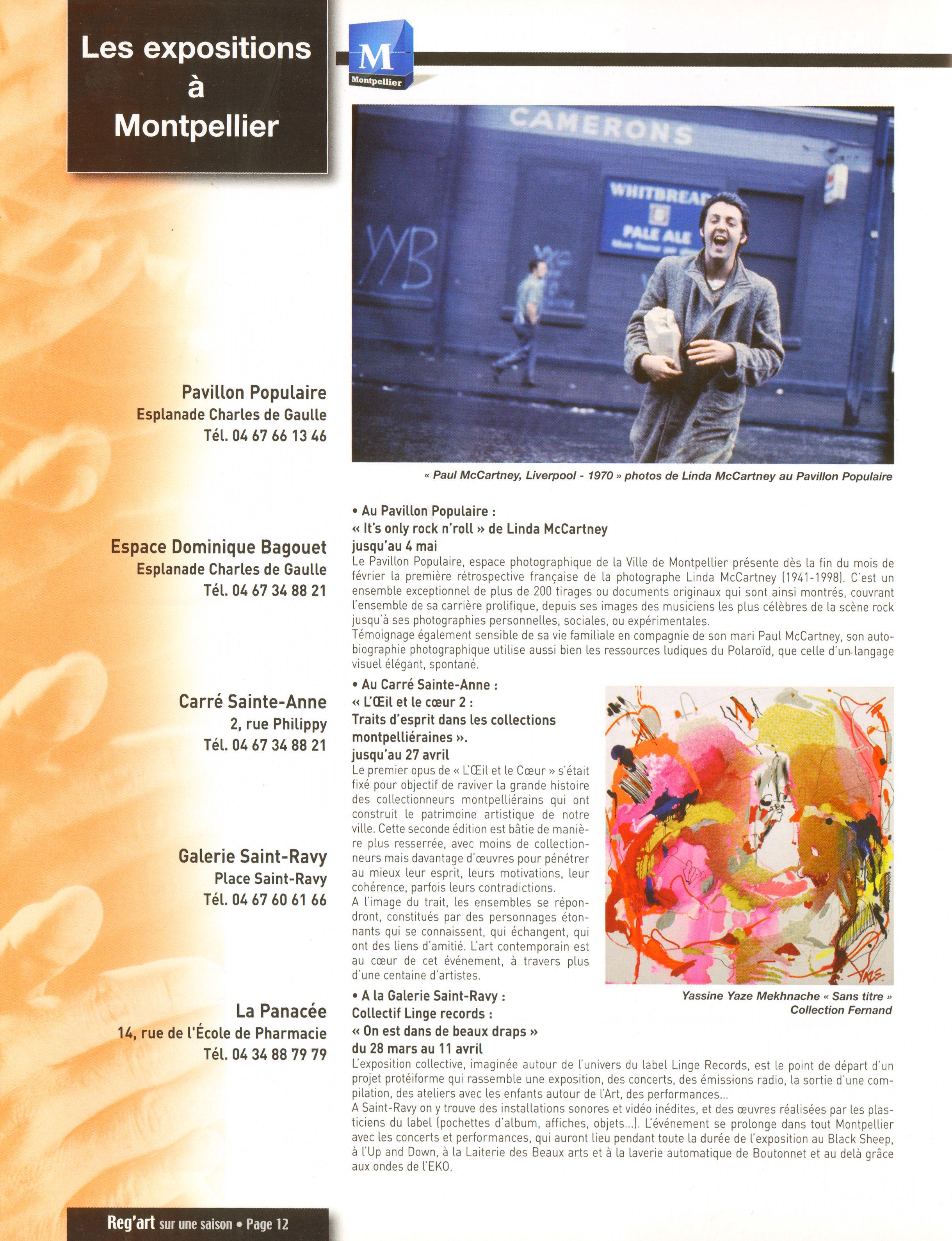 Magazines Français 1989 - 2014 RegArtMarsAvrilMai2014Page12