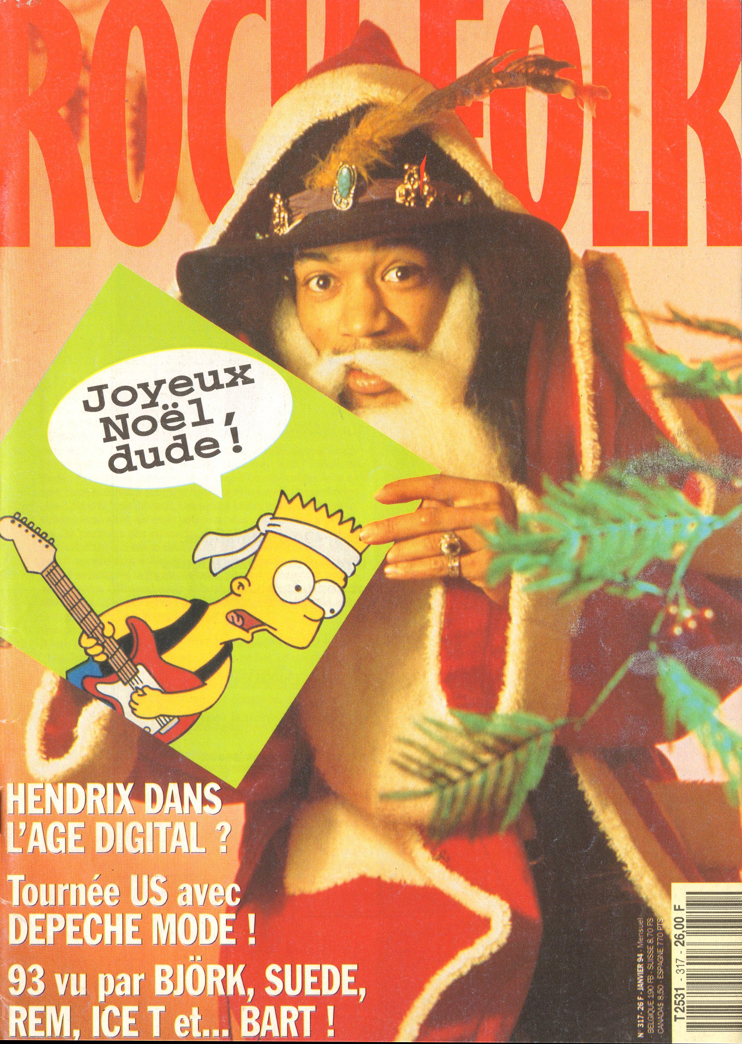 Magazines Français 1989 - 2014 RocketFolkJanvier1994Couverture