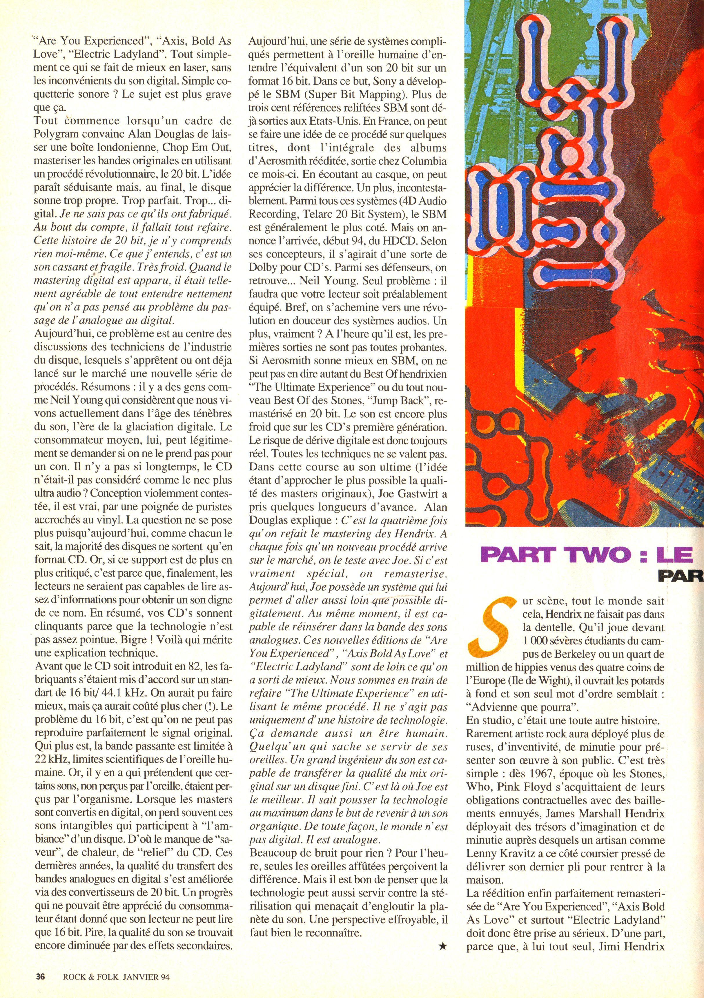 Magazines Français 1989 - 2014 RocketFolkJanvier1994Page36