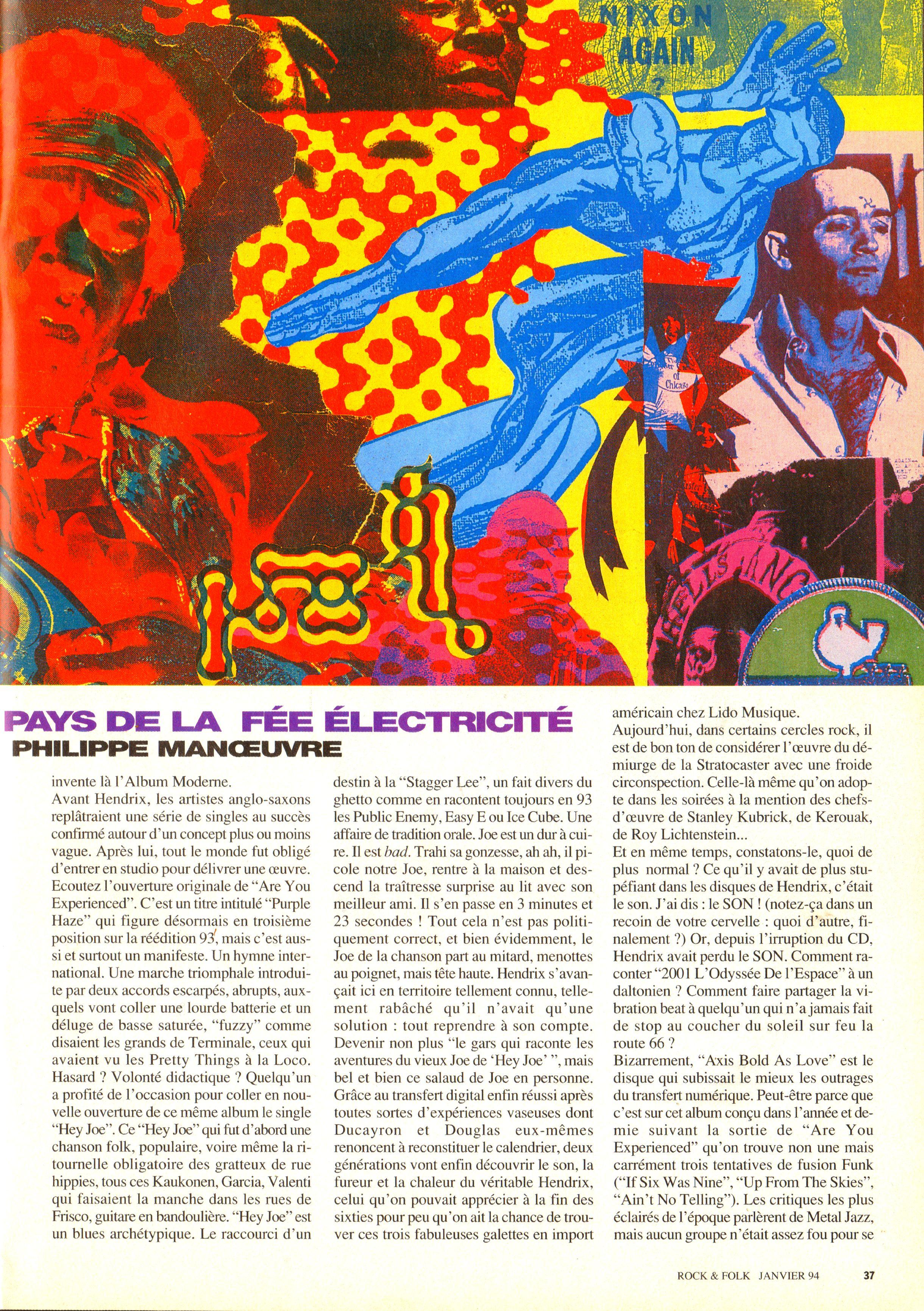 Magazines Français 1989 - 2014 RocketFolkJanvier1994Page37