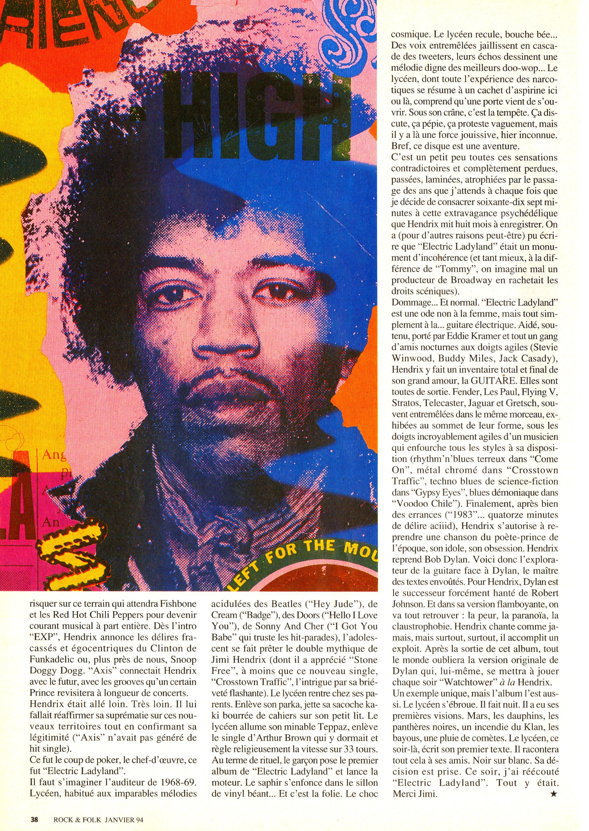 Magazines Français 1989 - 2014 RocketFolkJanvier1994Page38