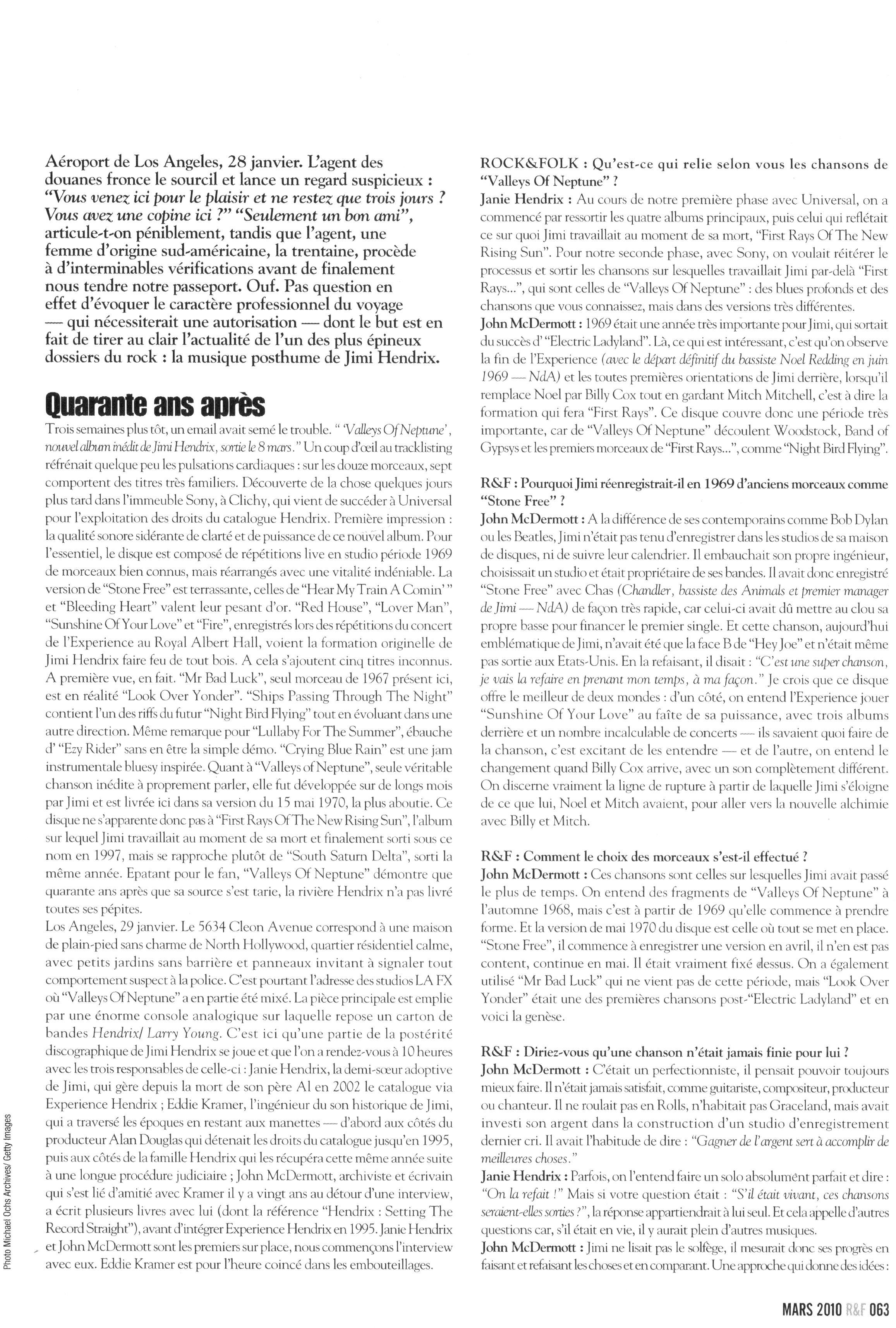 Magazines Français 1989 - 2014 RocketFolkMars2010Page63