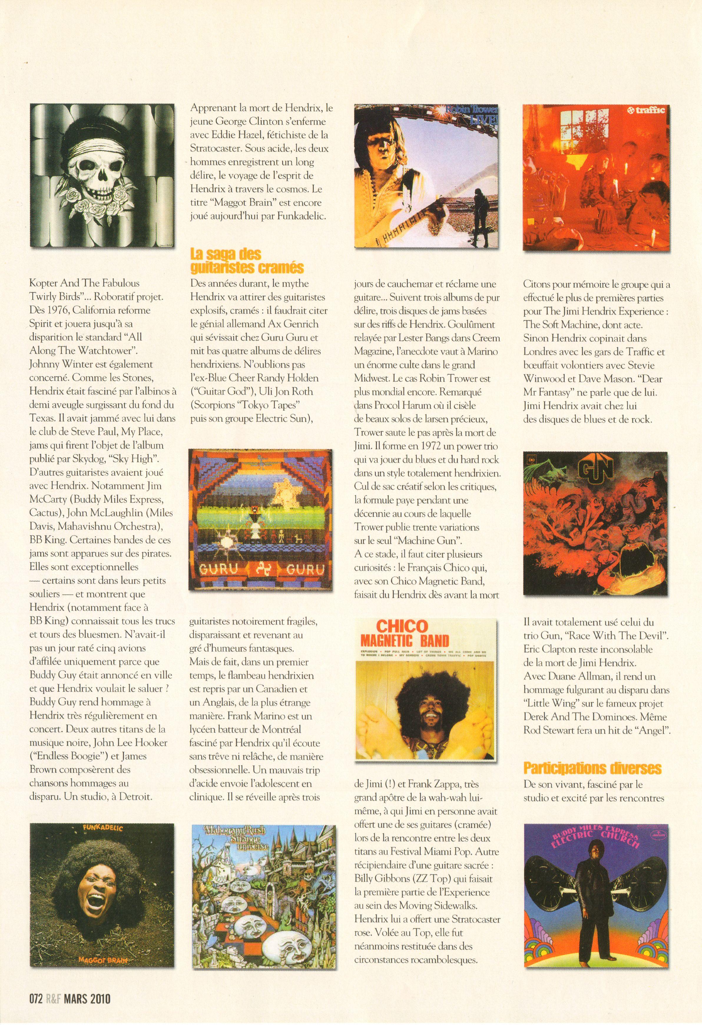 Magazines Français 1989 - 2014 RocketFolkMars2010Page72