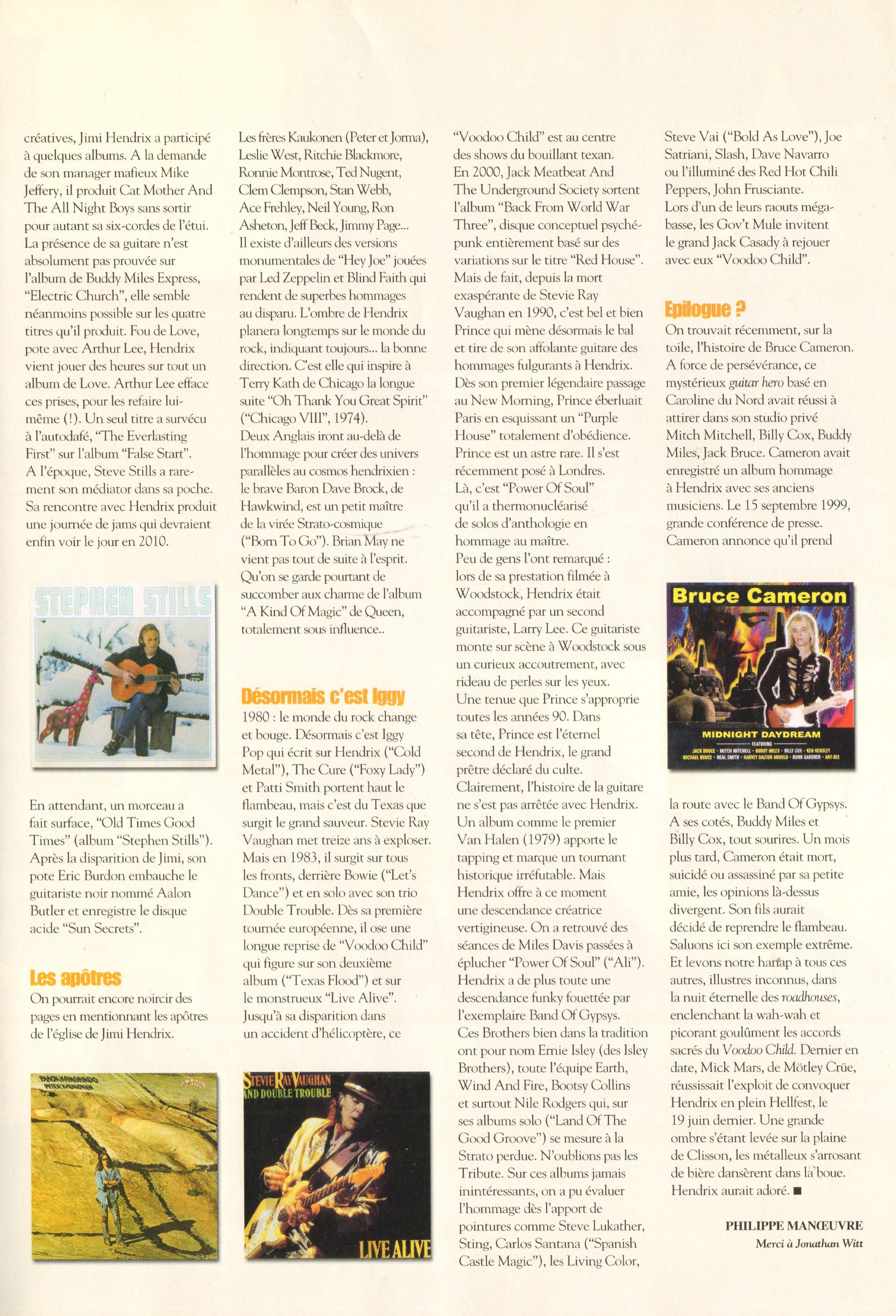 Magazines Français 1989 - 2014 RocketFolkMars2010Page73