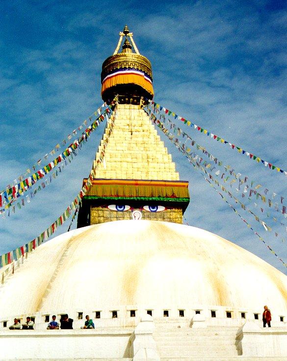 Le Stupa de Bodnath à Katmandou, Népal Bodnath1