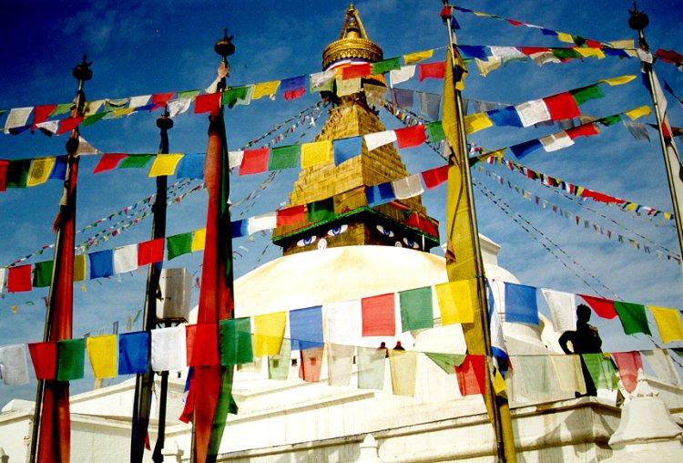 Le Stupa de Bodnath à Katmandou, Népal Bodnath2