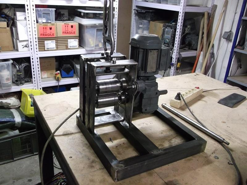 [fabrication] Une dénudeuse pour le recyclage du cuivre 06_Denudeuse_Fabrication