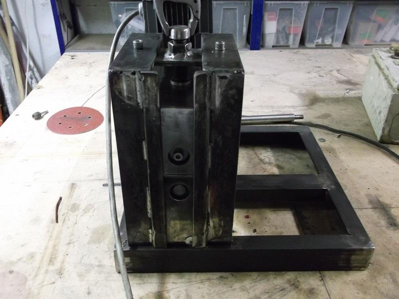 [fabrication] Une dénudeuse pour le recyclage du cuivre 08_Denudeuse_Fabrication