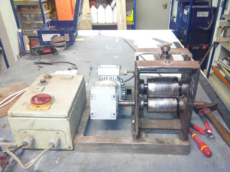 [fabrication] Une dénudeuse pour le recyclage du cuivre 11_Denudeuse_Fabrication