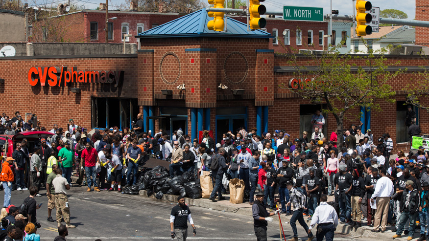 what do you all think of the Baltimore riots going on right now? Baltimore4545645
