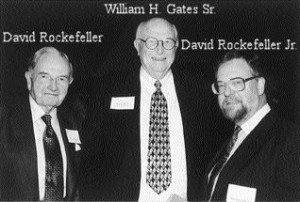 432 DNA Tuning and the Nazi-ization of Music Rockefeller-Senior-and-Junior-with-Gates-Senior-300x202