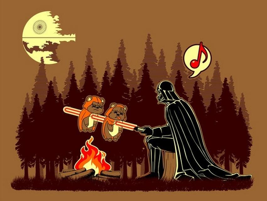 Titel des ersten Star Wars Spin Off Film bekannt Ewoks-on-a-stick