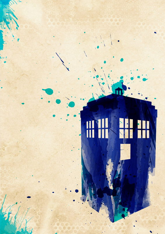 The Perfect Doctor - Page 2 Rustic-Doctor-Who-TARDIS-Painting
