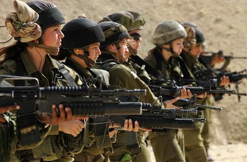 COD MP TRAILER - Page 2 Israeli-women-soldiers