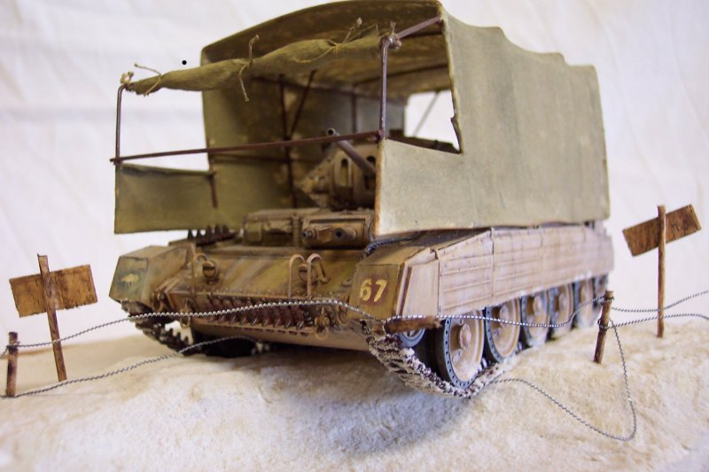 Le camouflage du Crusader - Italeri 1/35 Crusader1