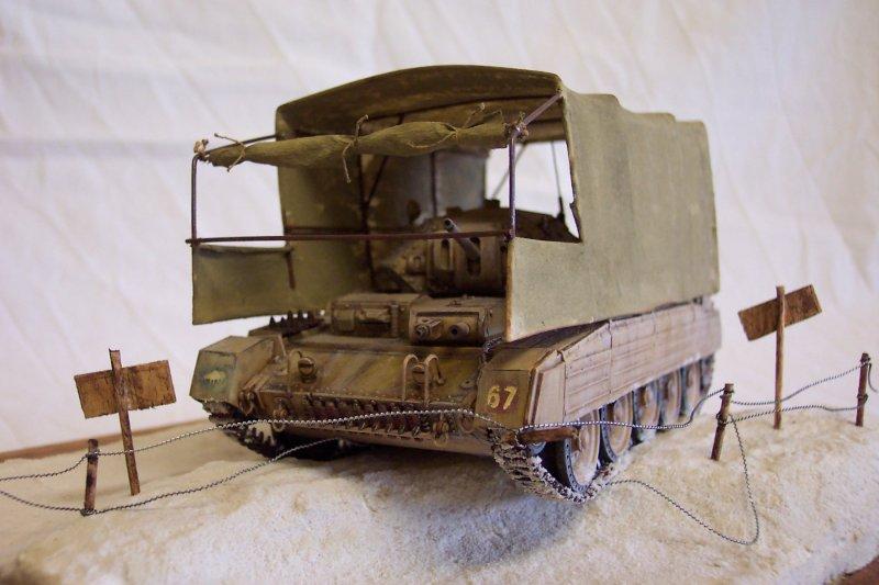 Le camouflage du Crusader - Italeri 1/35 Crusader2