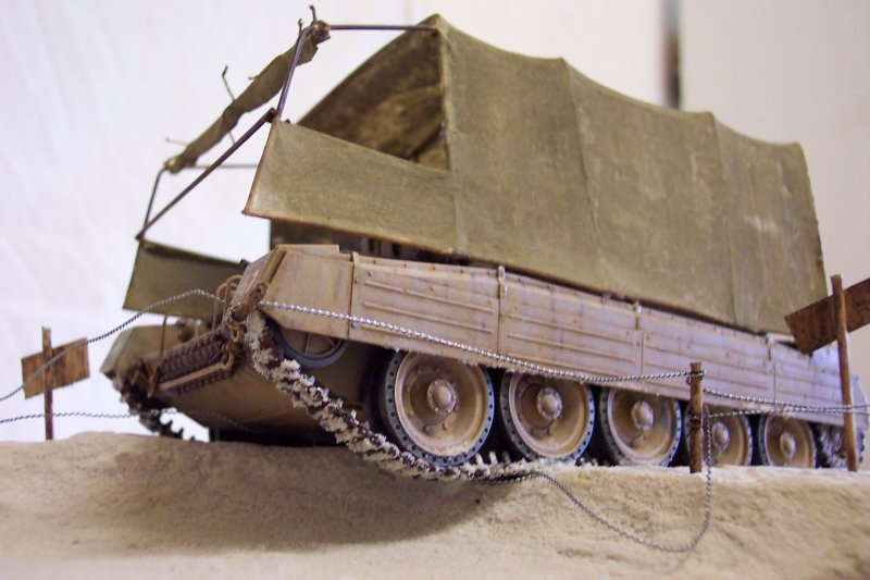 Le camouflage du Crusader - Italeri 1/35 Crusader4