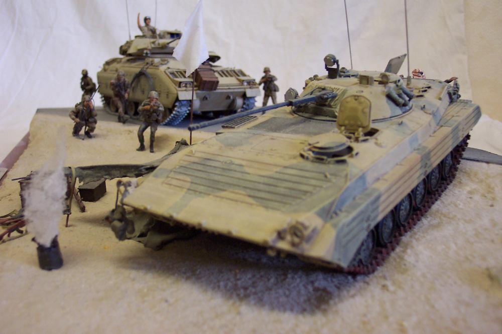 Bradley-BMP -  Tamiya Italeri 1/35 Golfe199106